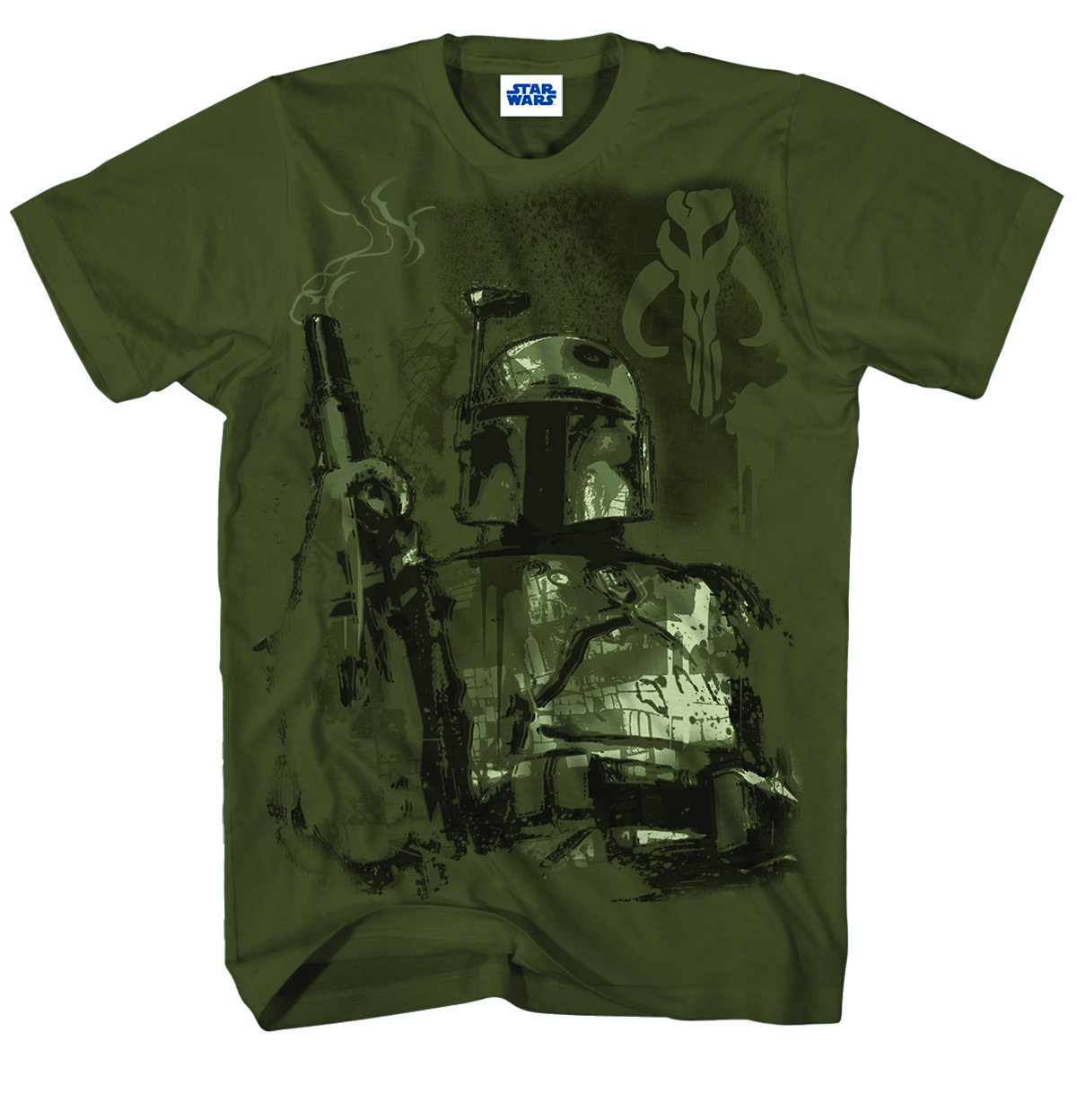 SW COLLECTING BOUNTY MILT GREEN T/S XL