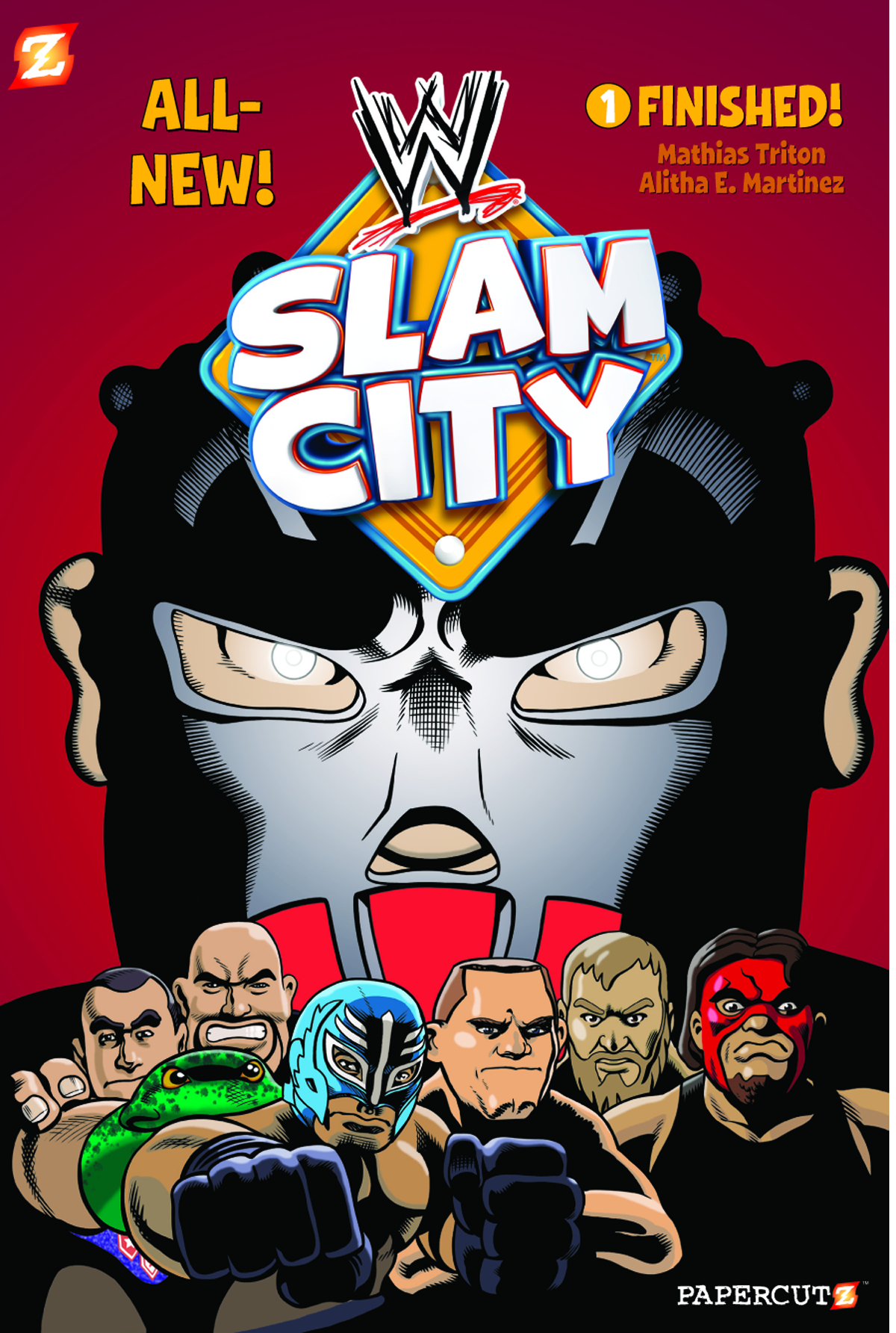 WWE SLAM CITY HC VOL 01 FINISHED
