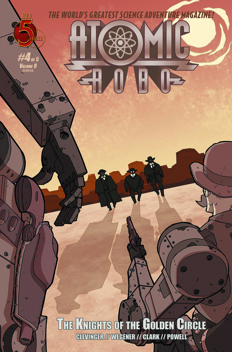 ATOMIC ROBO KNIGHTS OF GOLDEN CIRCLE #4