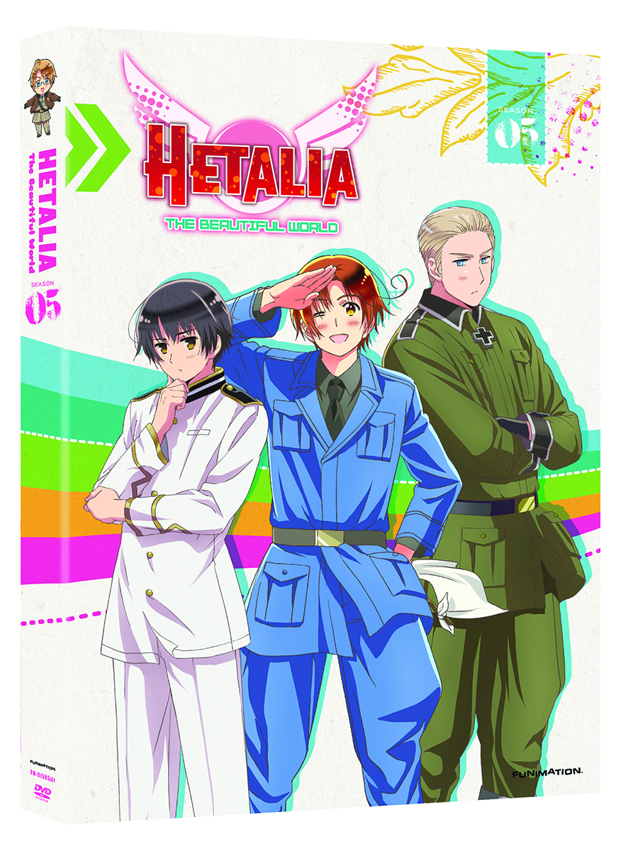 HETALIA THE BEAUTIFUL WORLD DVD