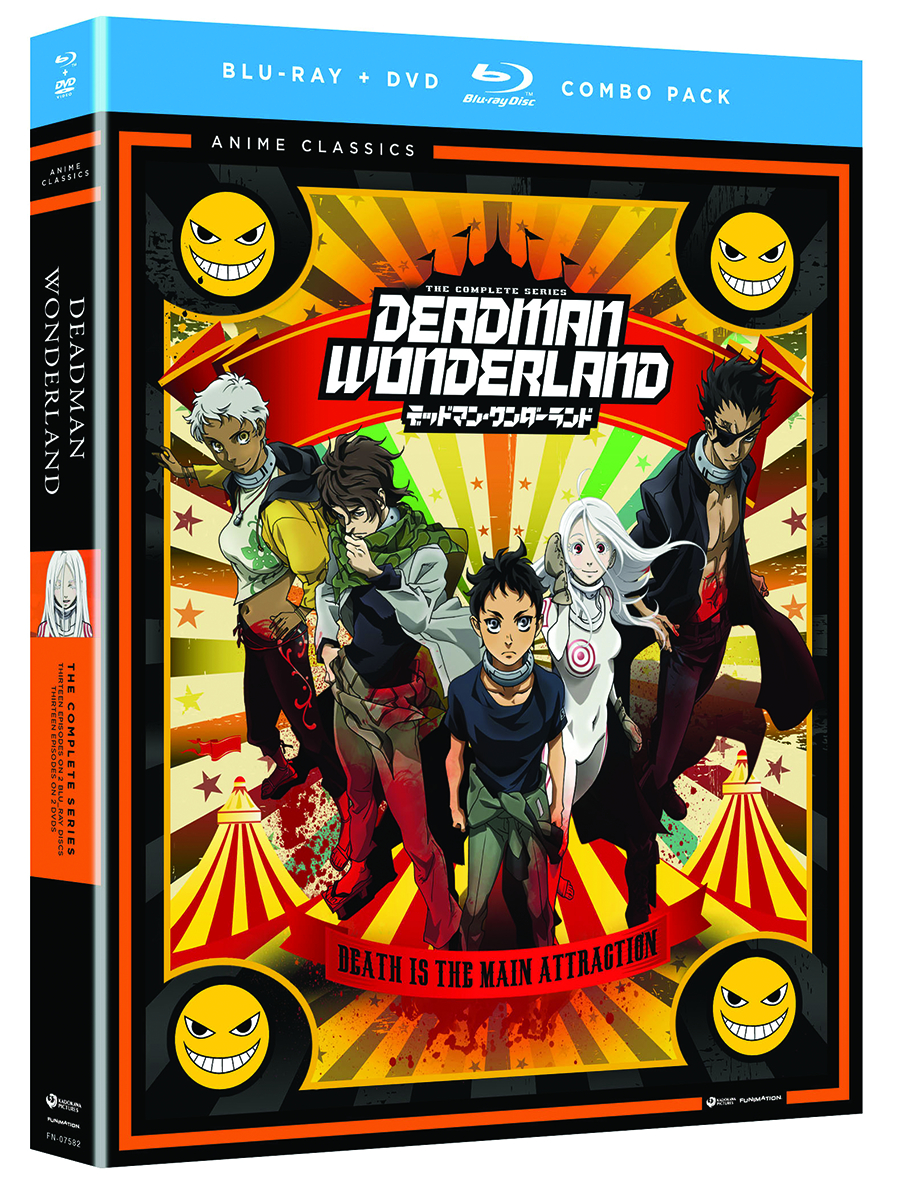 DEADMAN WONDERLAND COMP SER BD + DVD