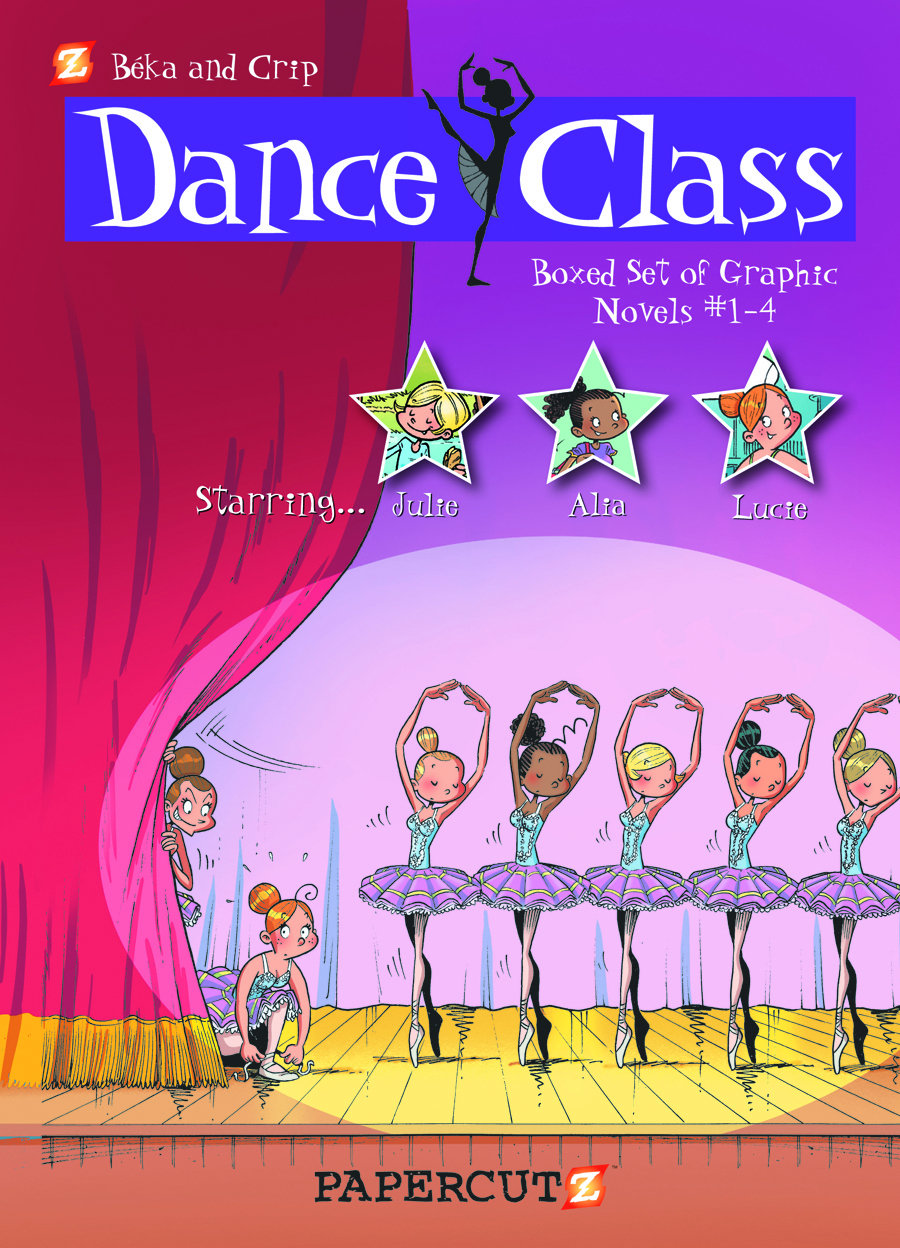 DANCE CLASS HC BOX SET VOL 1-4