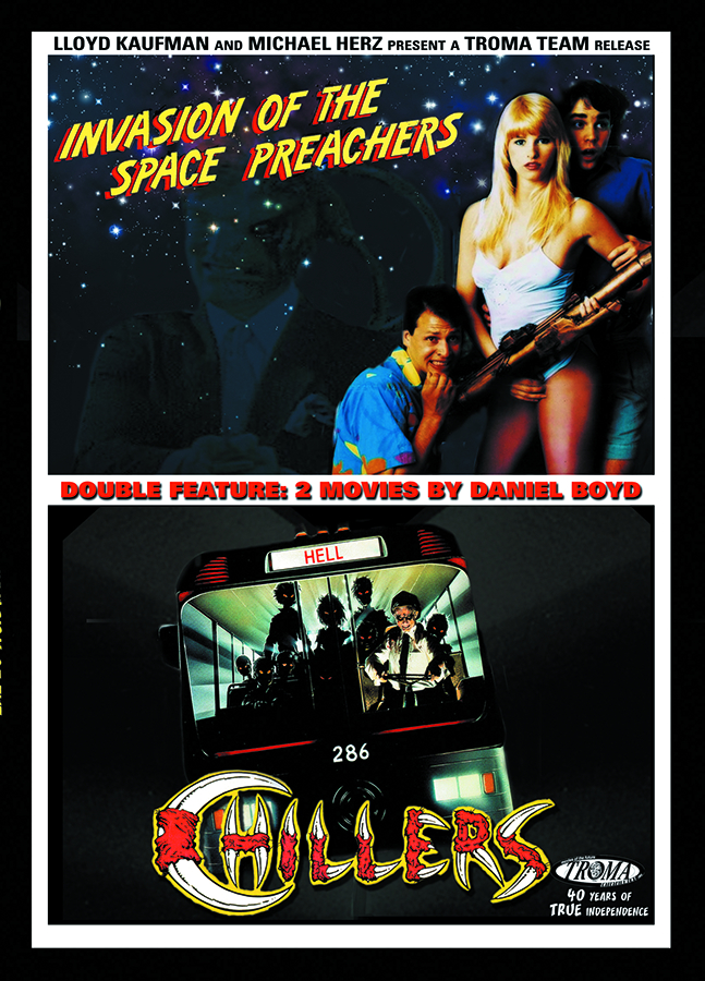 CHILLERS/SPACE PREACHERS DVD