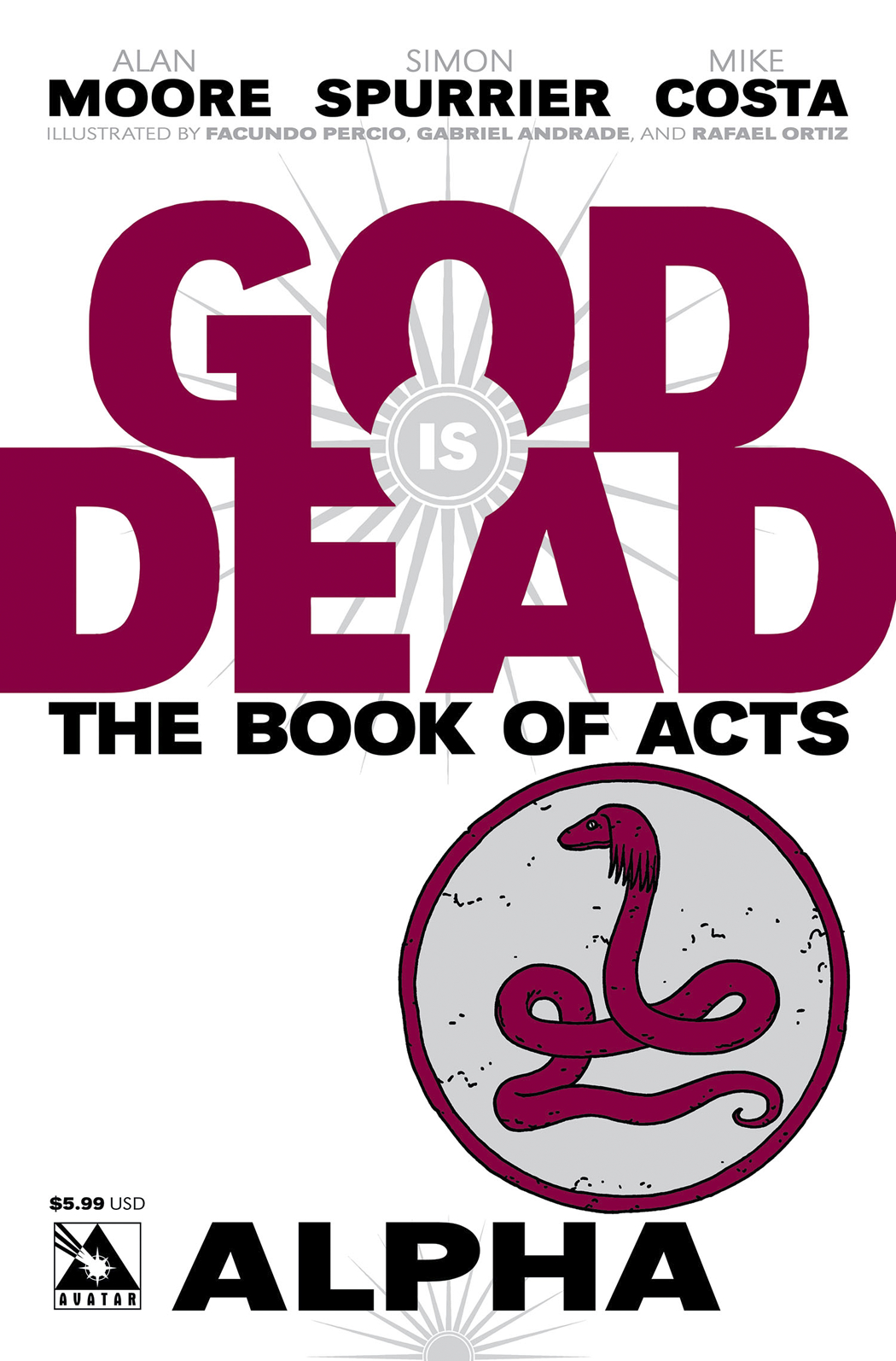 GOD IS DEAD BOOK OF ACTS ALPHA