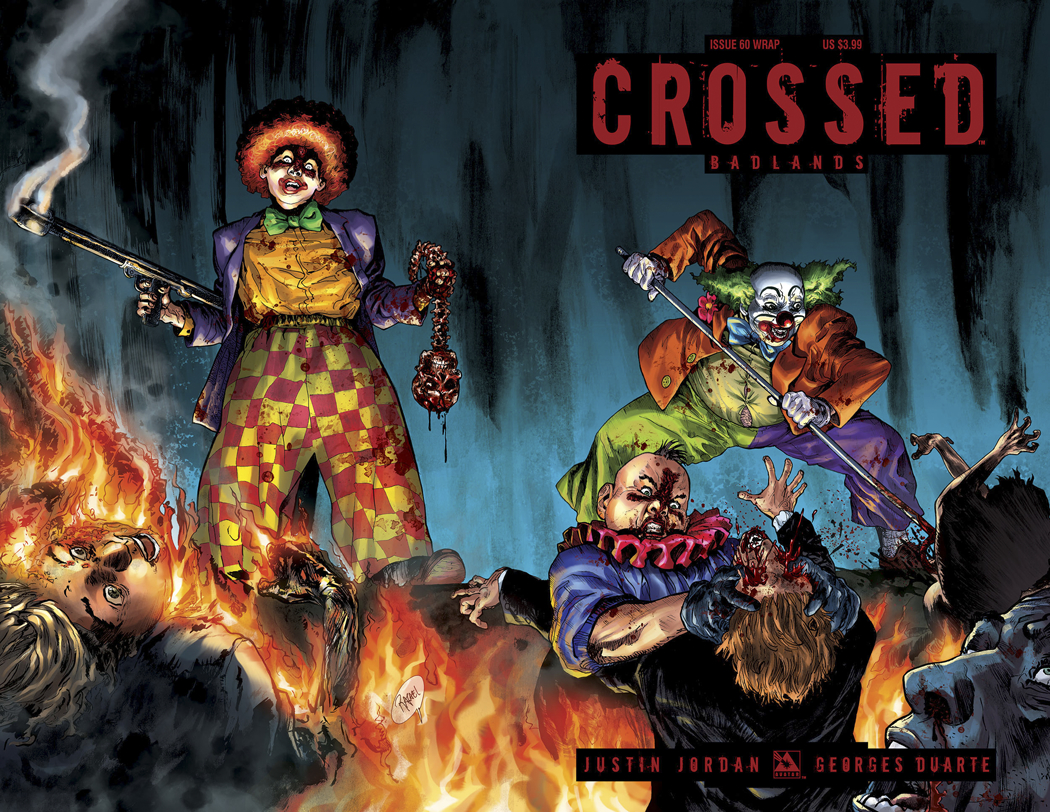 CROSSED BADLANDS #60 WRAP CVR