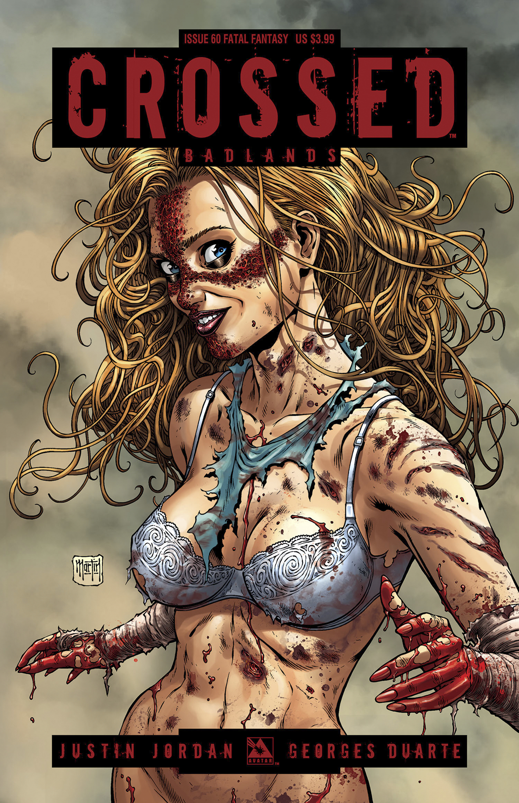 CROSSED BADLANDS #60 FATAL FANTASY CVR