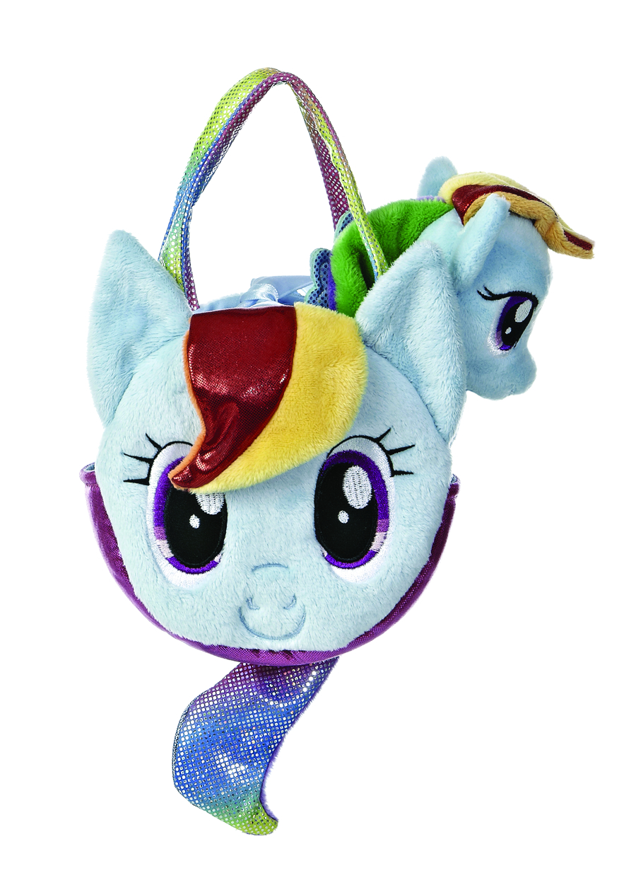 AURORA MLP RAINBOW DASH PONYTAIL CARRIER