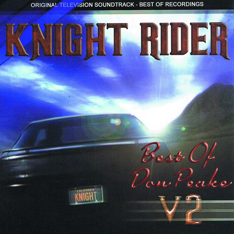 KNIGHT RIDER MUSIC FROM THE TV SERIES CD VOL 02