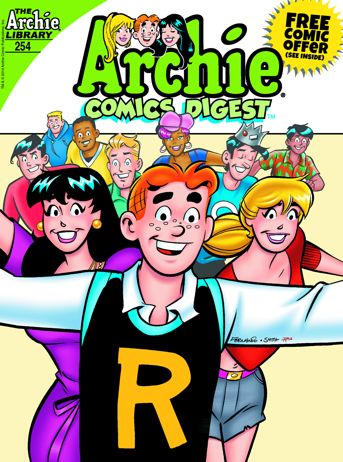 ARCHIE COMICS DIGEST #254 (NOTE PRICE)