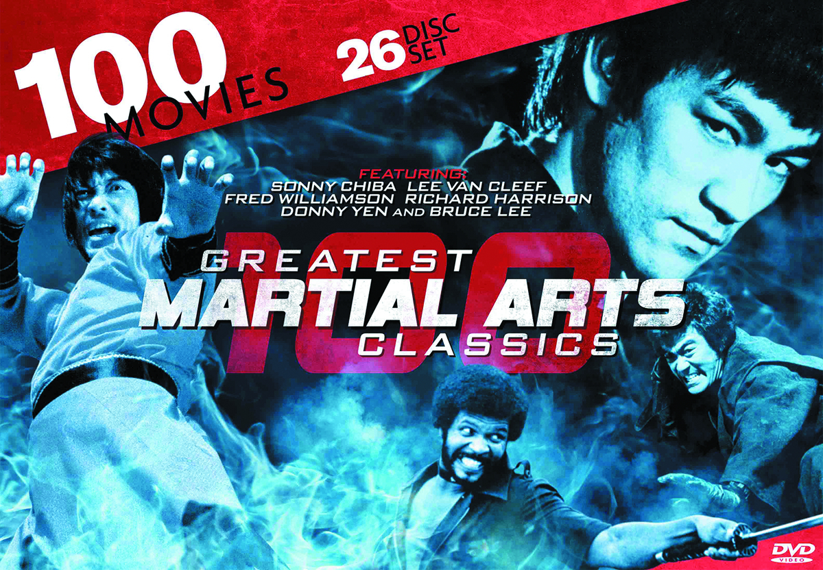 100 GREATEST MARTIAL ARTS CLASSICS DVD