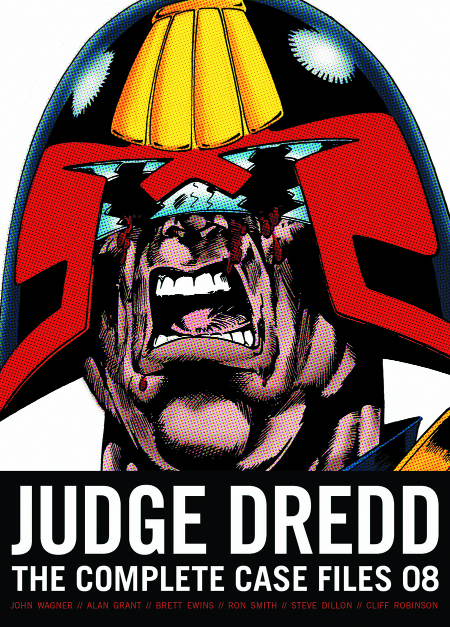 US JUDGE DREDD COMP CASE FILES TP VOL 08