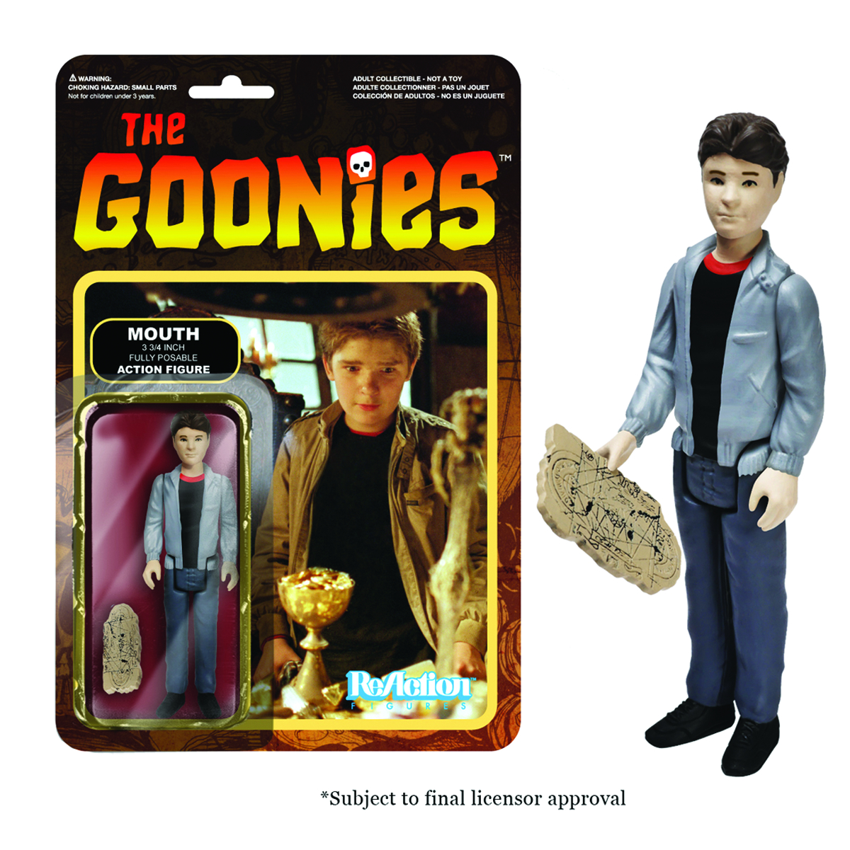 REACTION GOONIES MOUTH FIG