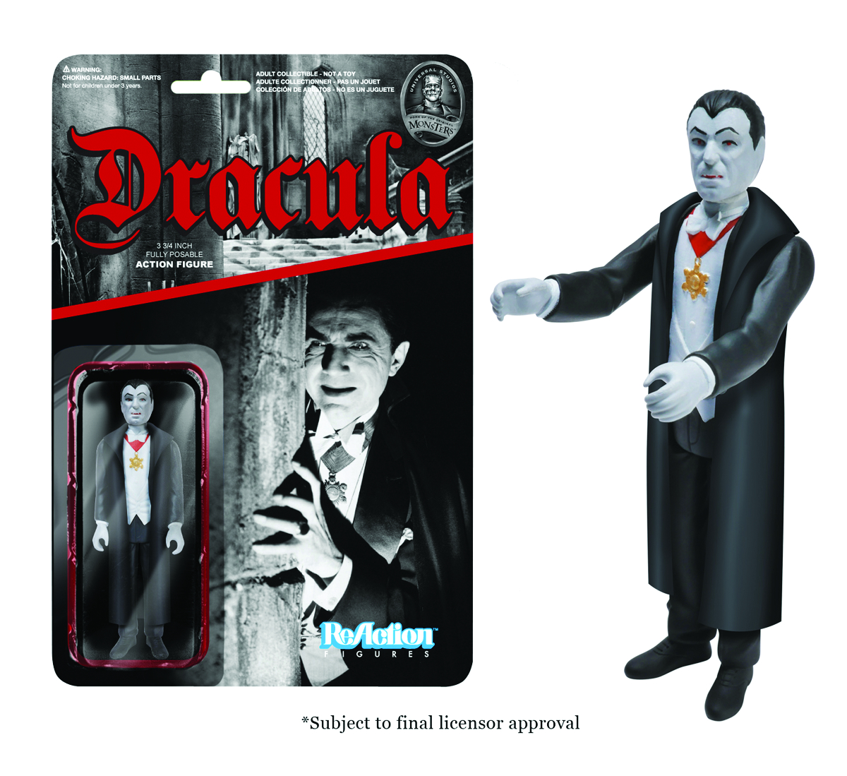 REACTION UNIV MONSTERS DRACULA FIG