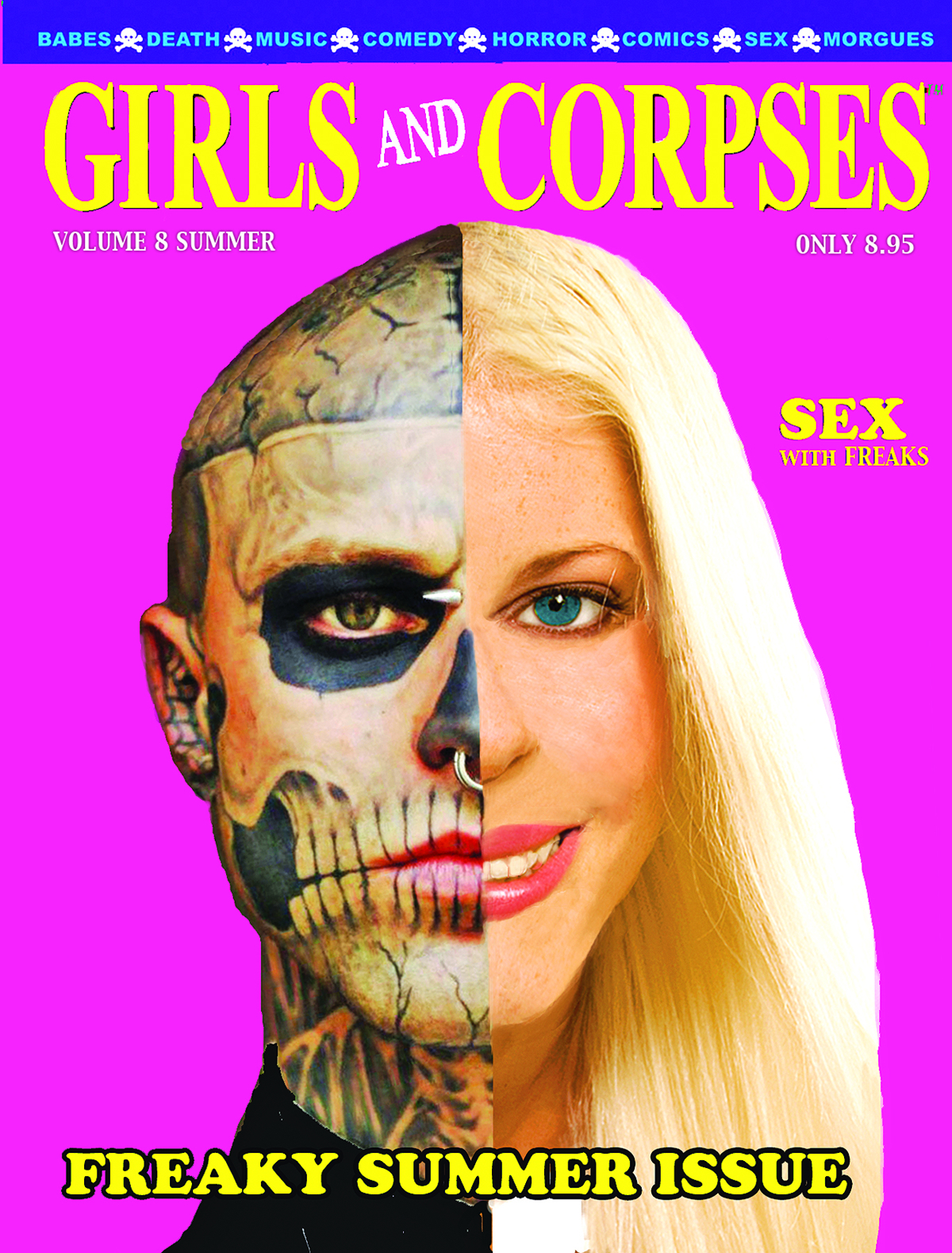 GIRLS AND CORPSES MAGAZINE SUMMER 2014 (MR)