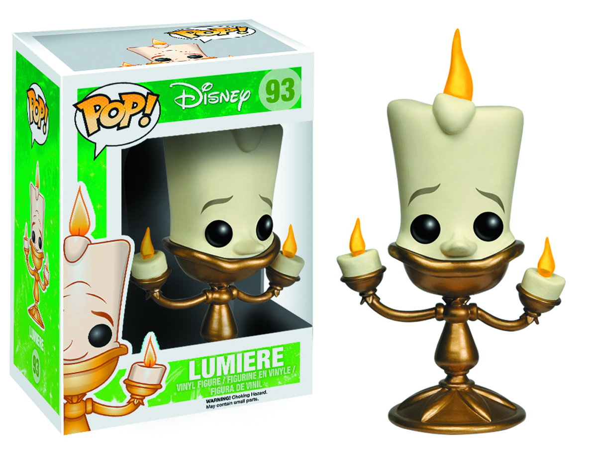 POP BEAUTY AND BEAST LUMIERE VINYL FIG