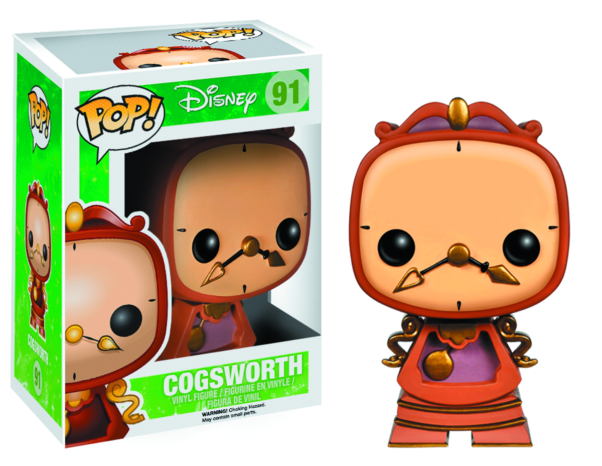 POP BEAUTY AND BEAST COGSWORTH VINYL FIG