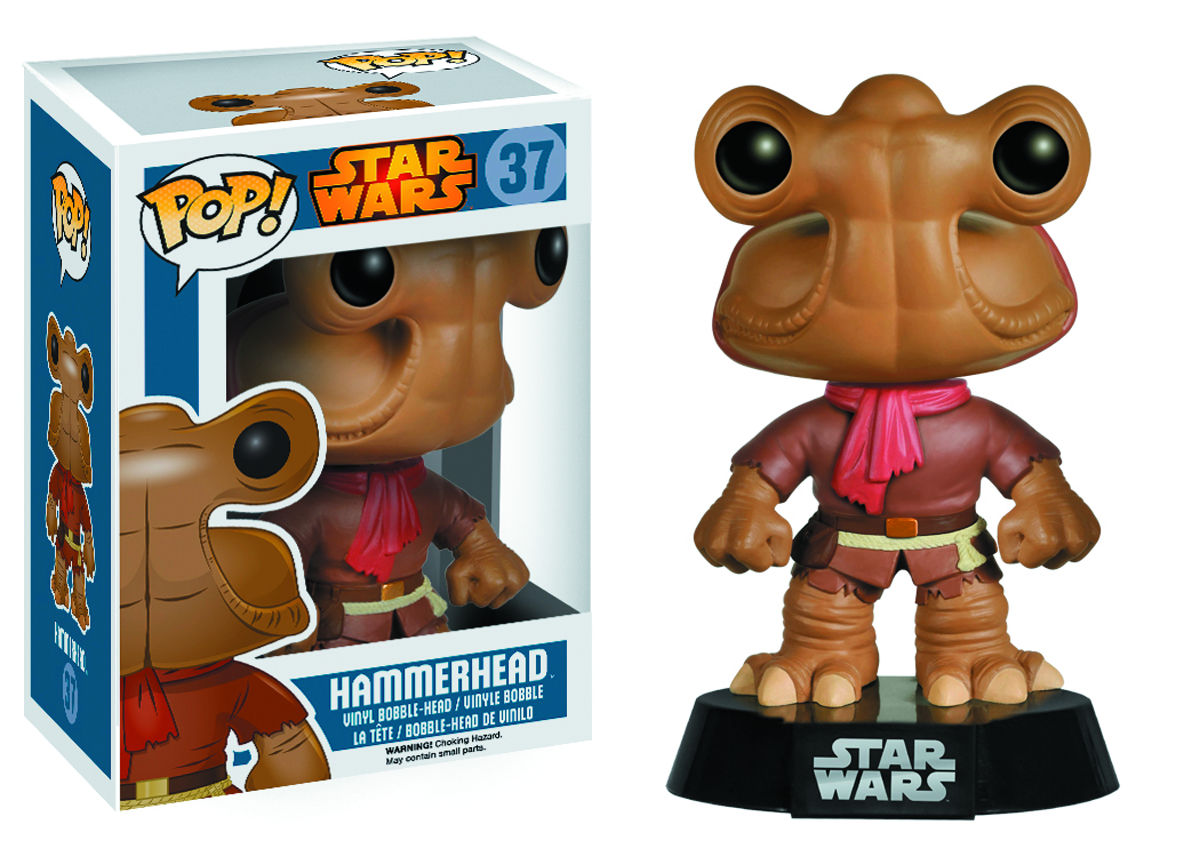 POP STAR WARS HAMMERHEAD VINYL FIG
