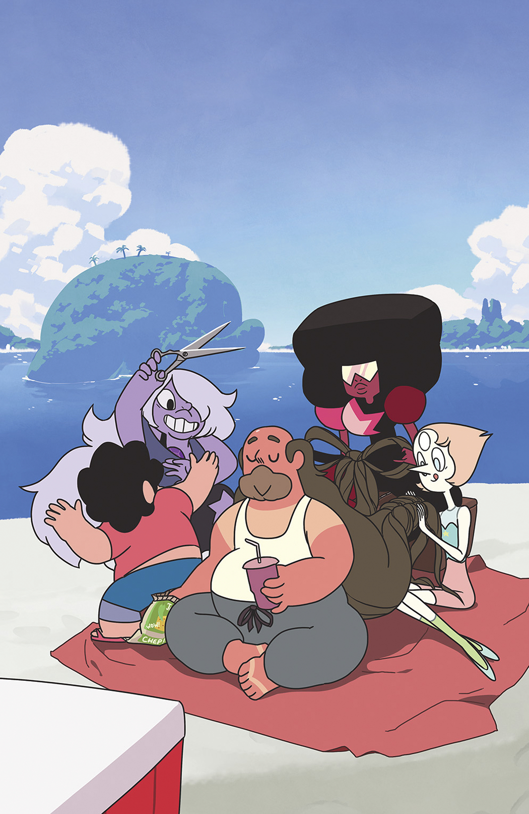 STEVEN UNIVERSE #1 50 COPY INCV CUMMINGS VAR