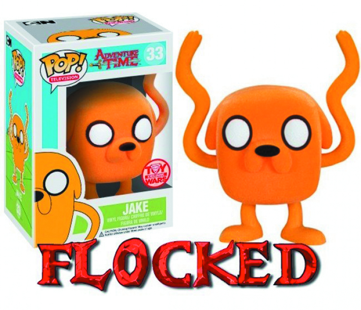 POP ADV TIME JAKE TOY WARS EXCL FLCKD VIN FIG
