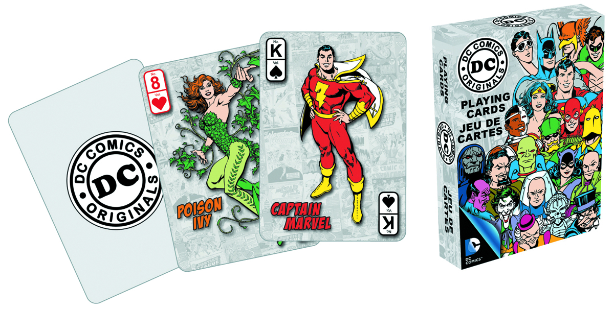 DC HEROES PLAYING CARDS