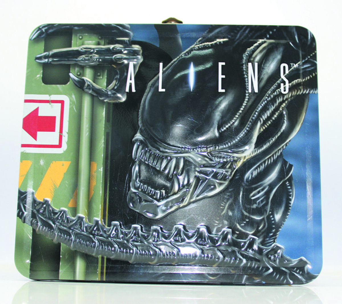 ALIENS LUNCH BOX W/THERMOS