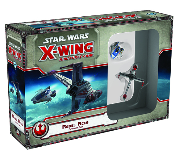 STAR WARS X-WING MINIS REBEL ACES EXP PACK
