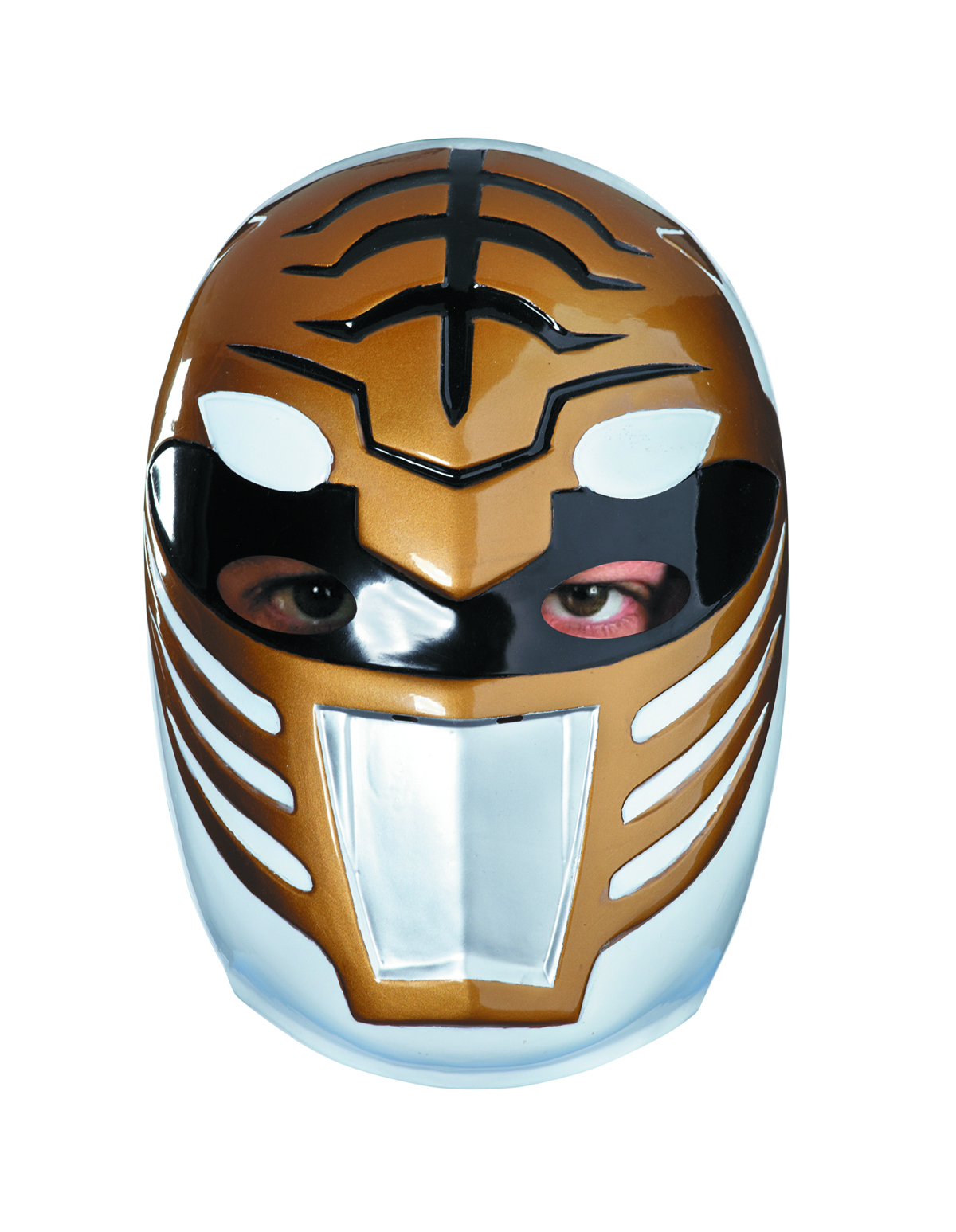 MMPR WHITE RANGER VACUFORM MASK