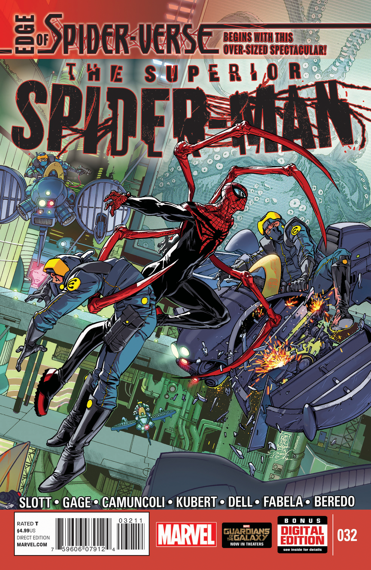 SUPERIOR SPIDER-MAN #32 EOSV