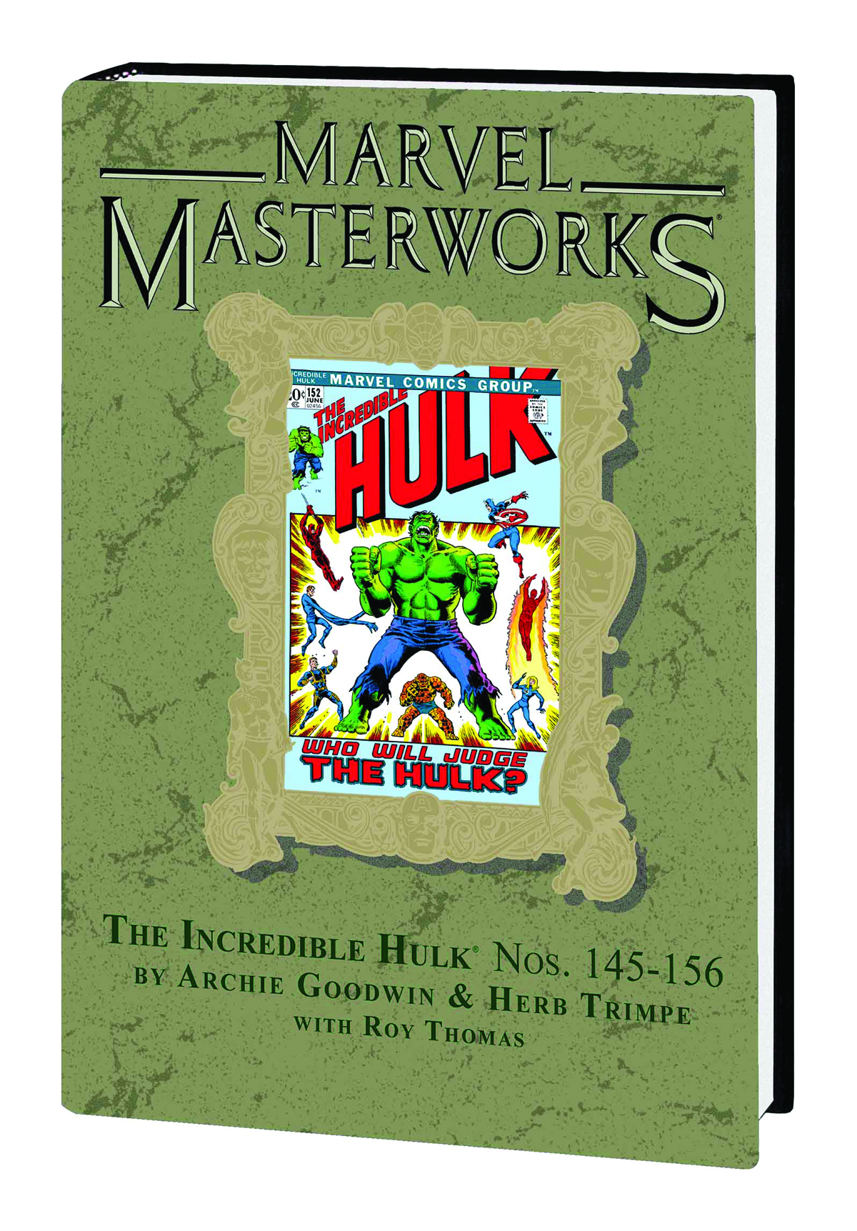MMW INCREDIBLE HULK HC VOL 08 DM VAR ED 212