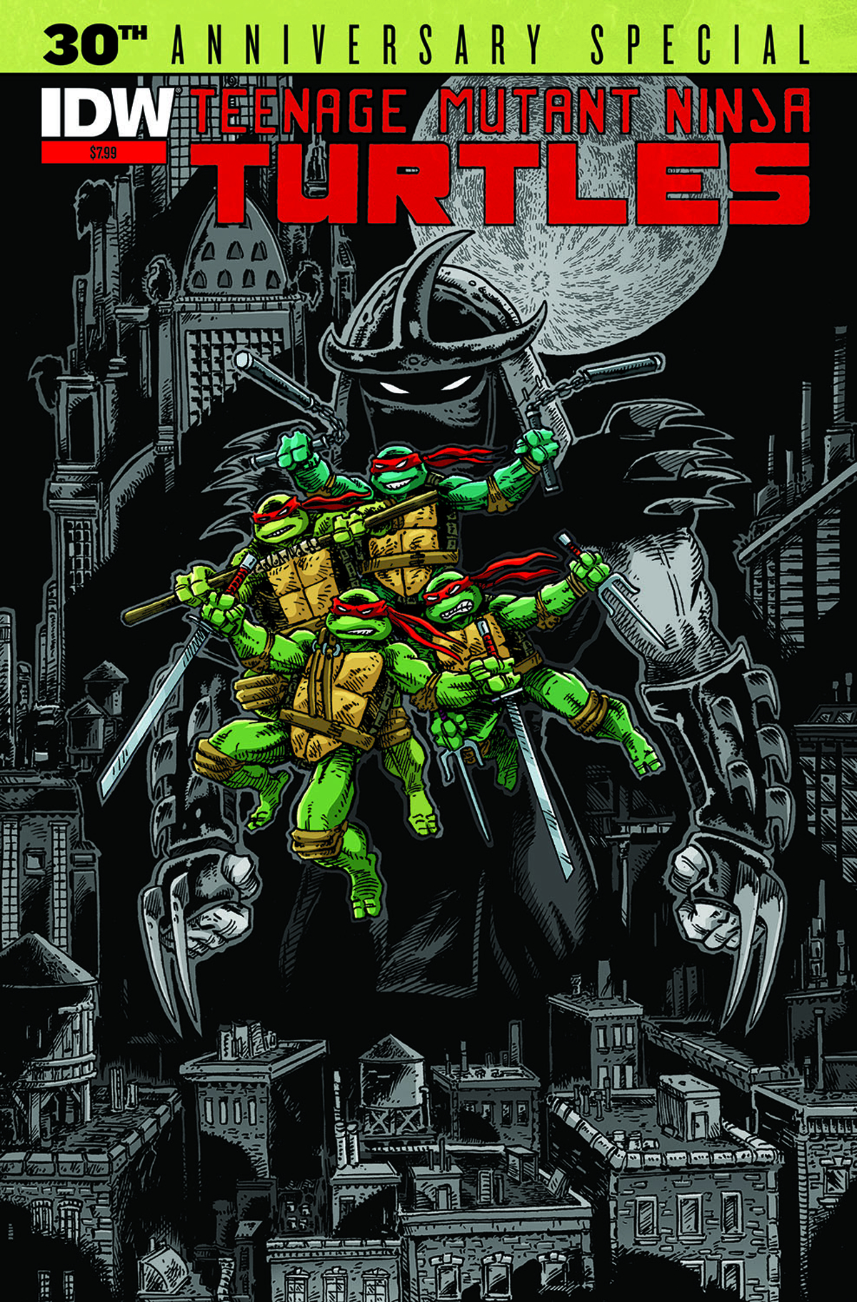 TMNT 30TH ANNIVERSARY SPECIAL 2ND PTG