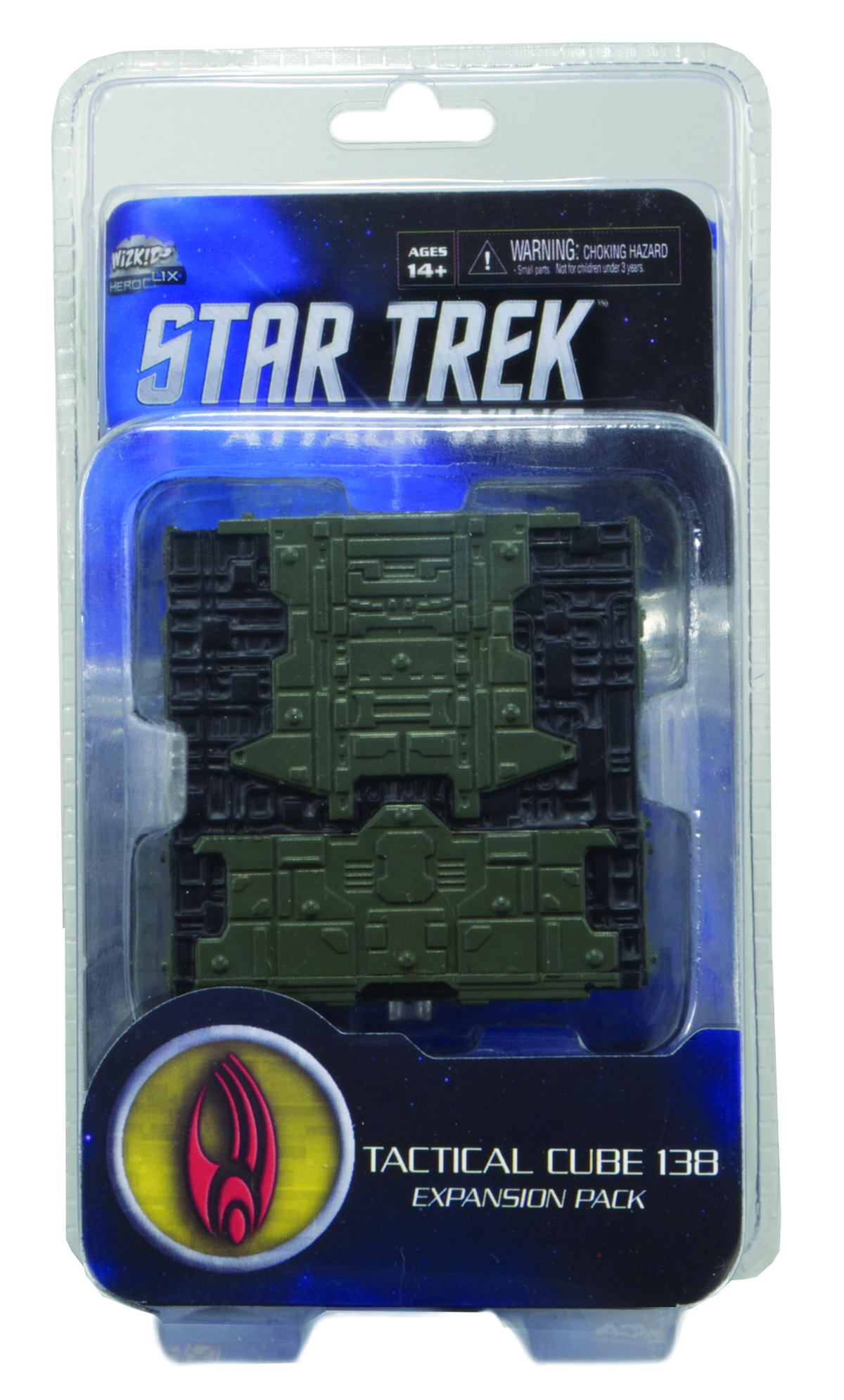 STAR TREK ATTACK WING TACTICAL CUBE BORG EXP