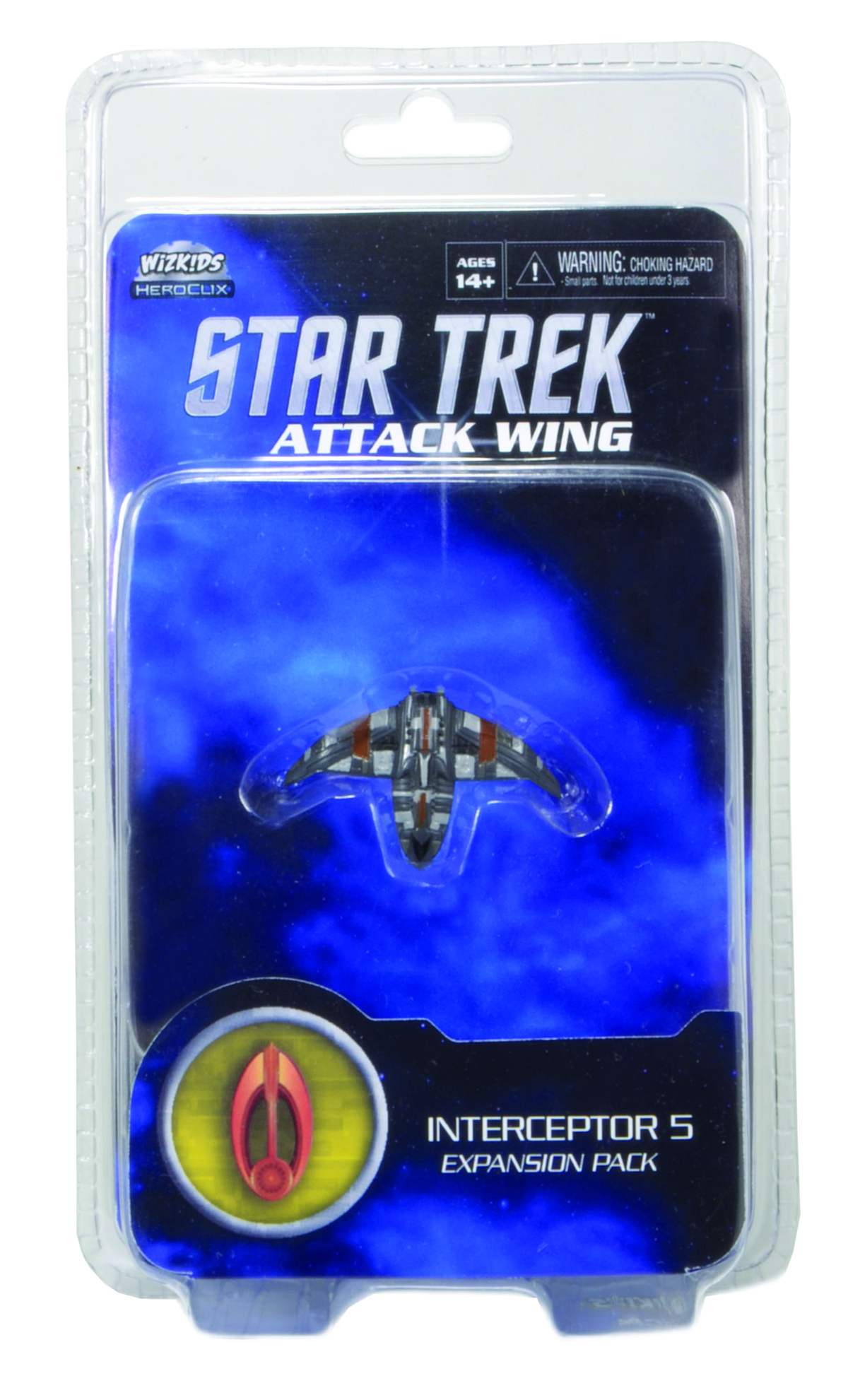 STAR TREK ATTACK WING INTERCEPTOR 5 BAJORAN EXP