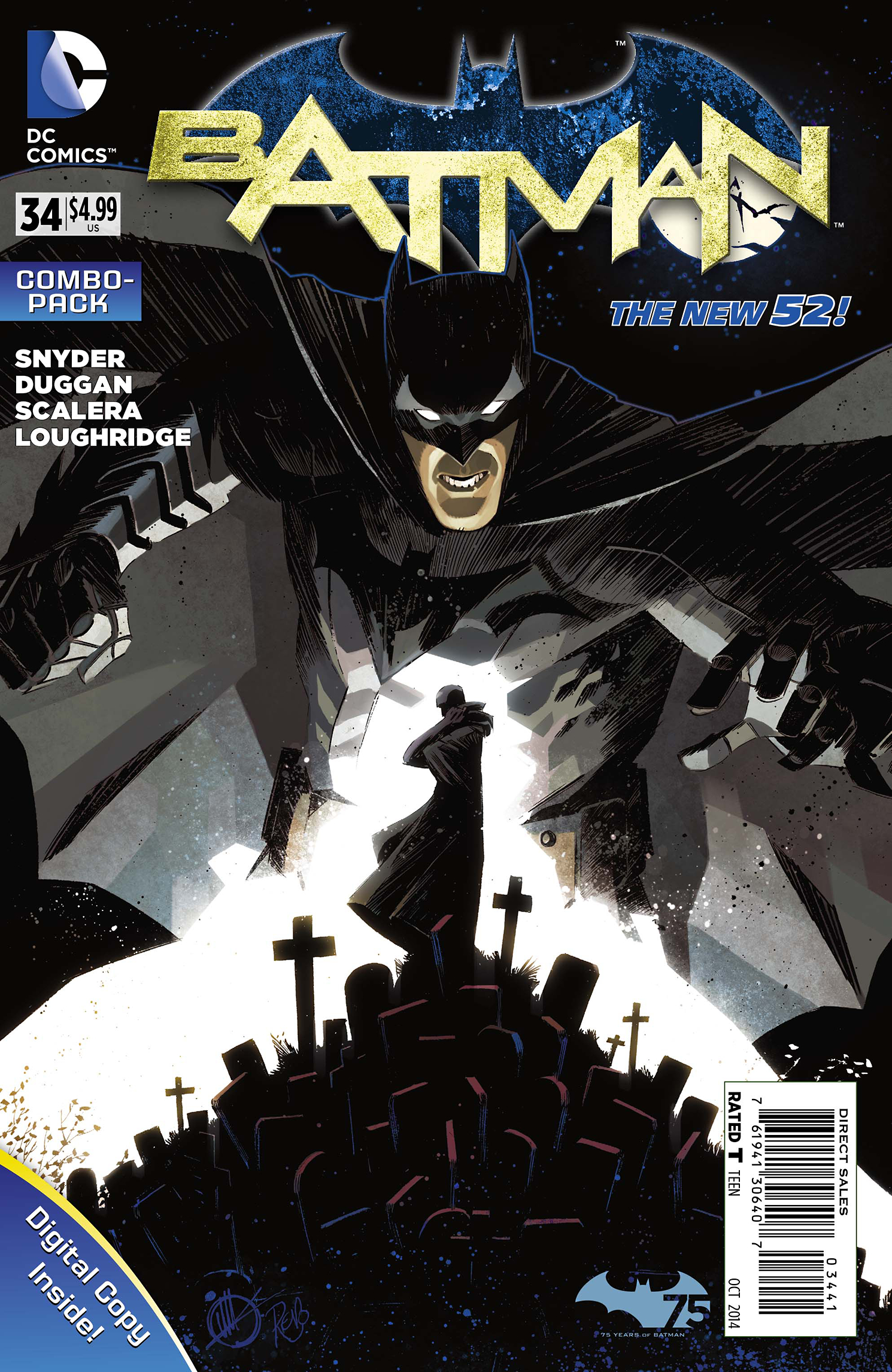 BATMAN #34 COMBO PACK