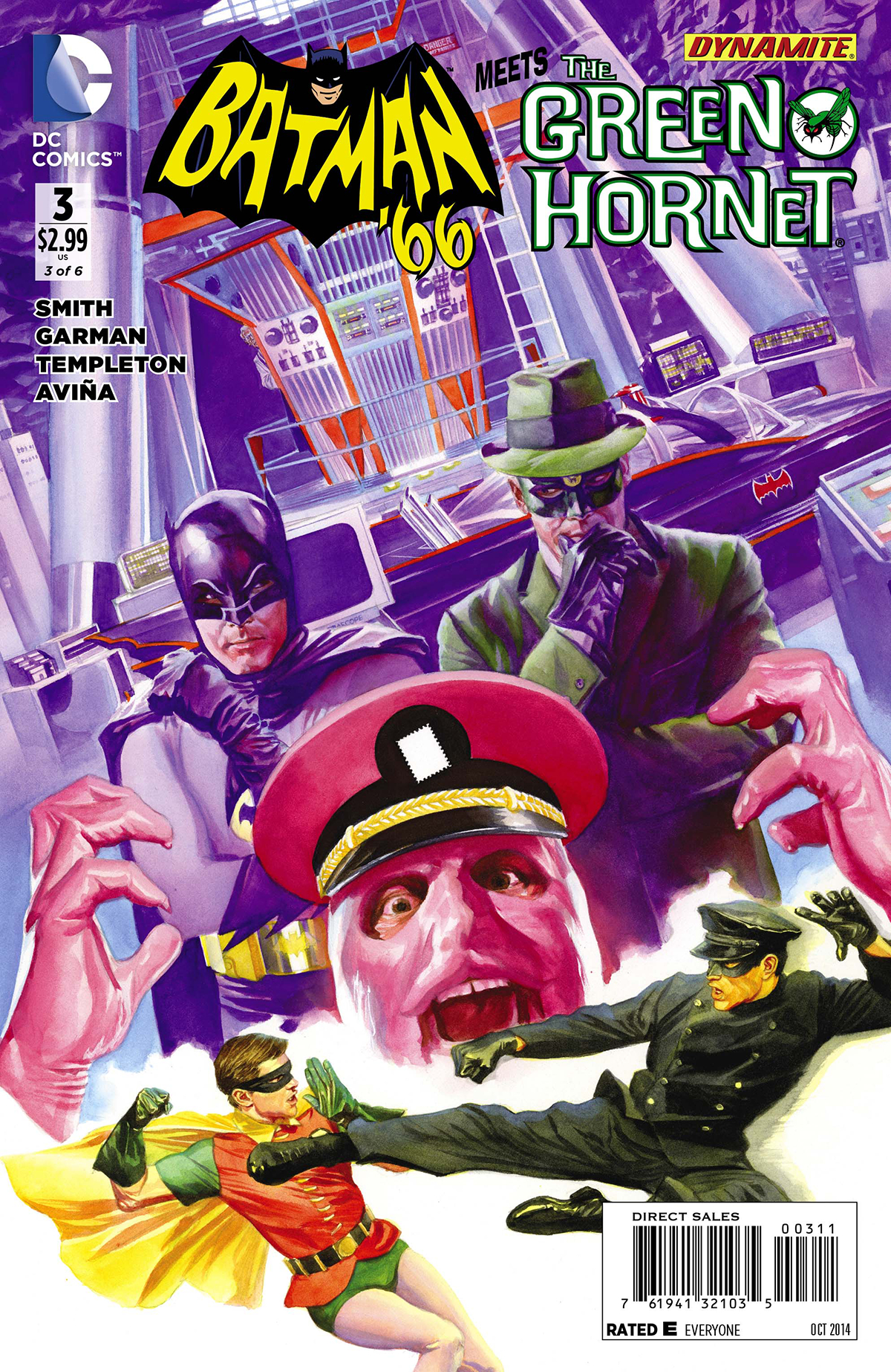 BATMAN 66 MEETS GREEN HORNET #3