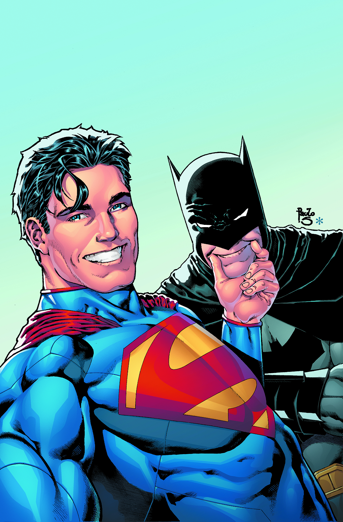 BATMAN SUPERMAN #14 DCU SELFIE VAR ED