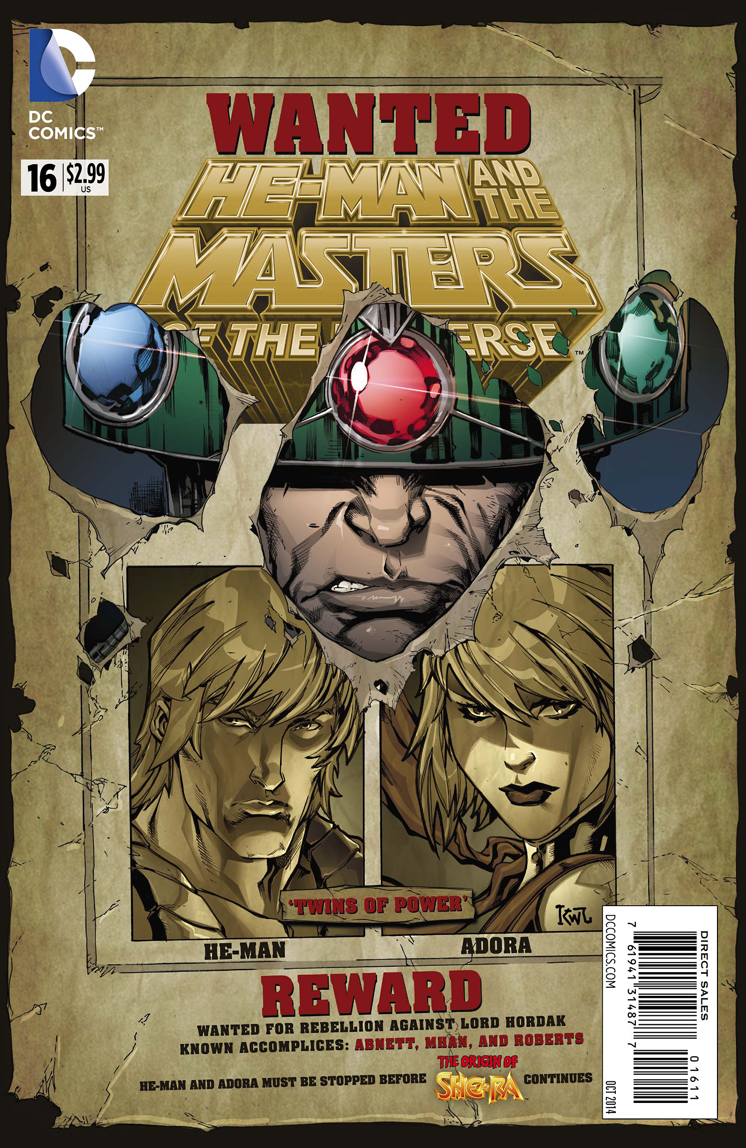 HE MAN AND THE MASTERS OF THE UNIVERSE #16