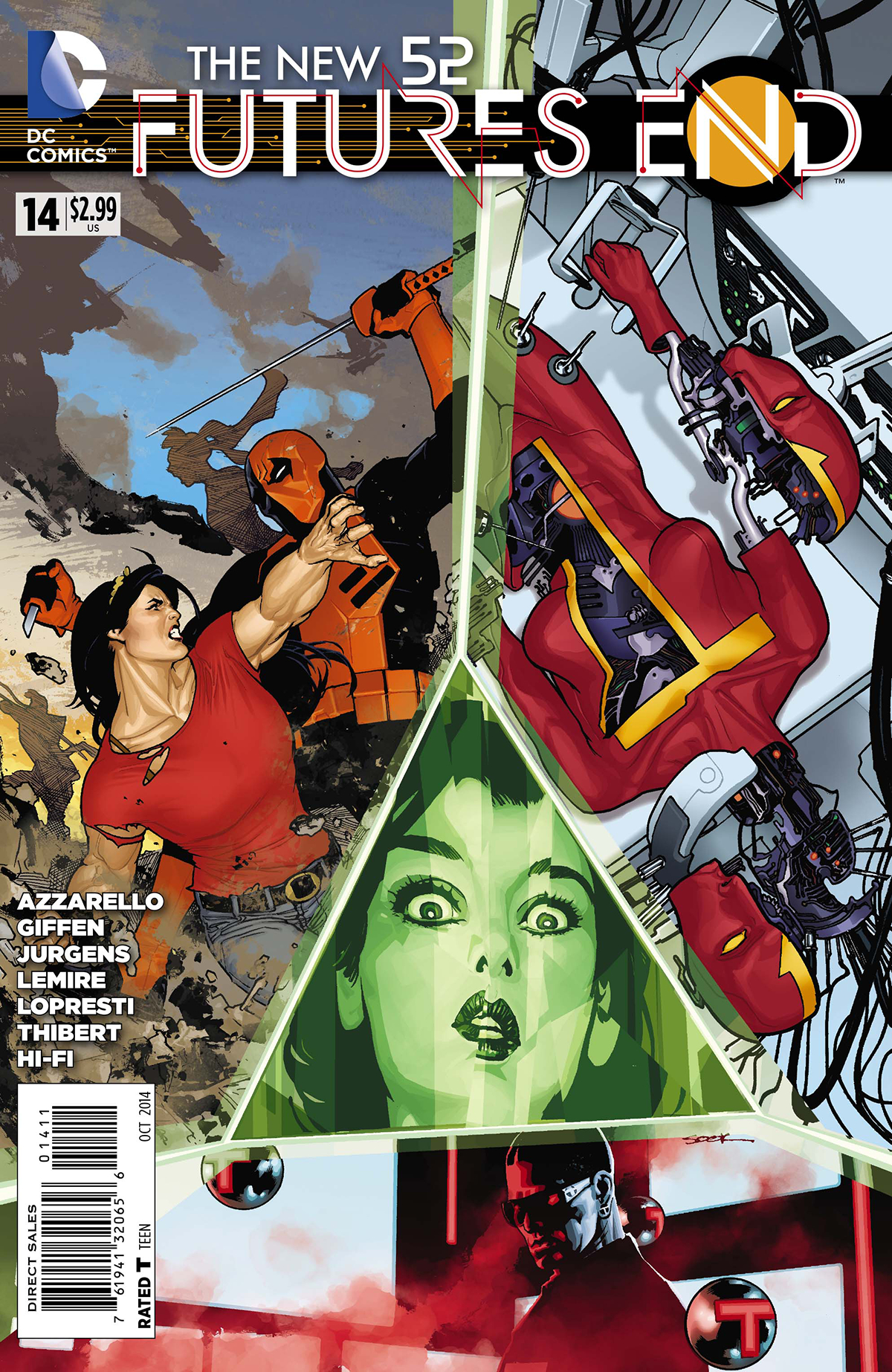 NEW 52 FUTURES END #14