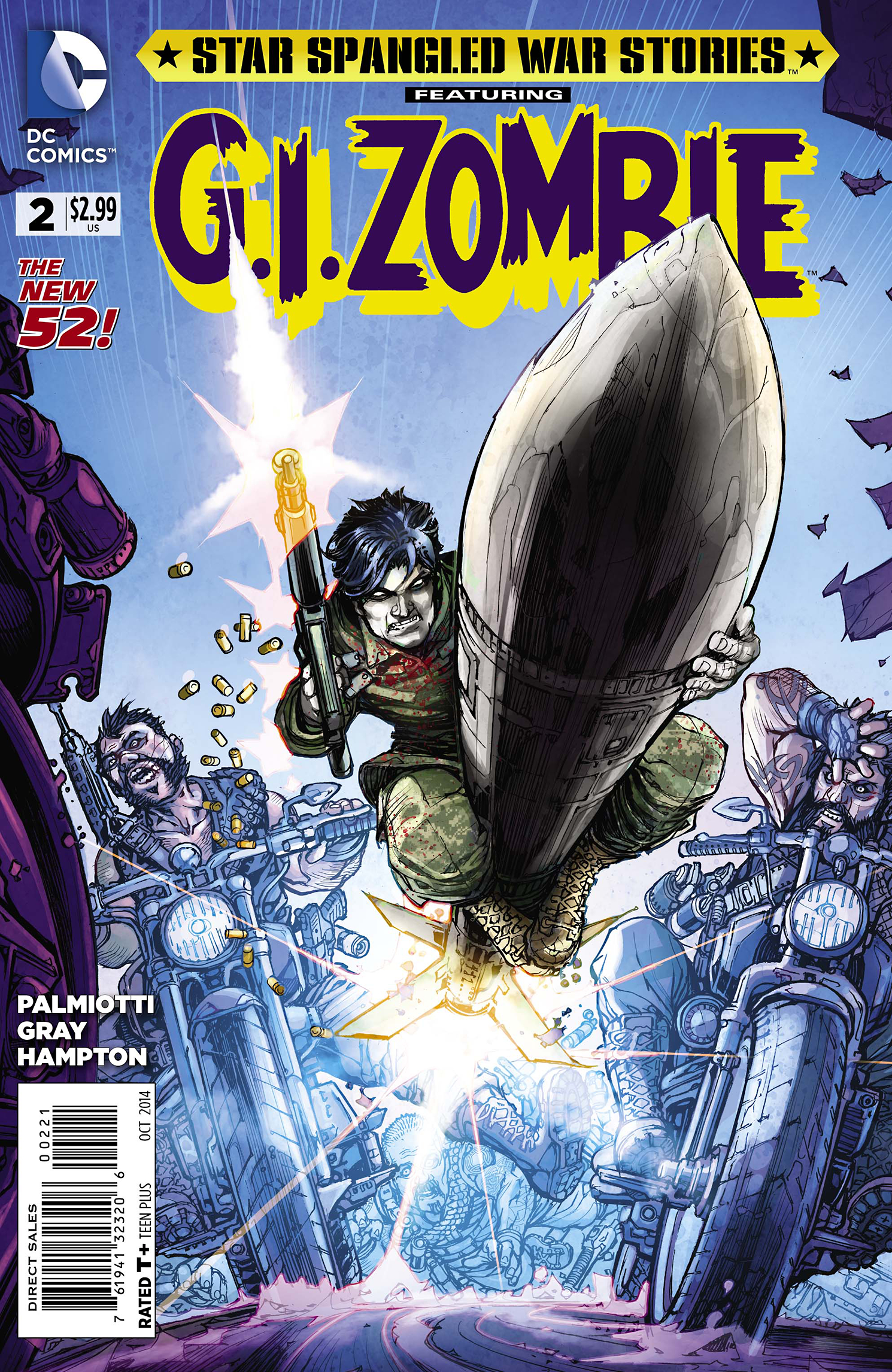 STAR SPANGLED WAR STORIES GI ZOMBIE #2 VAR ED