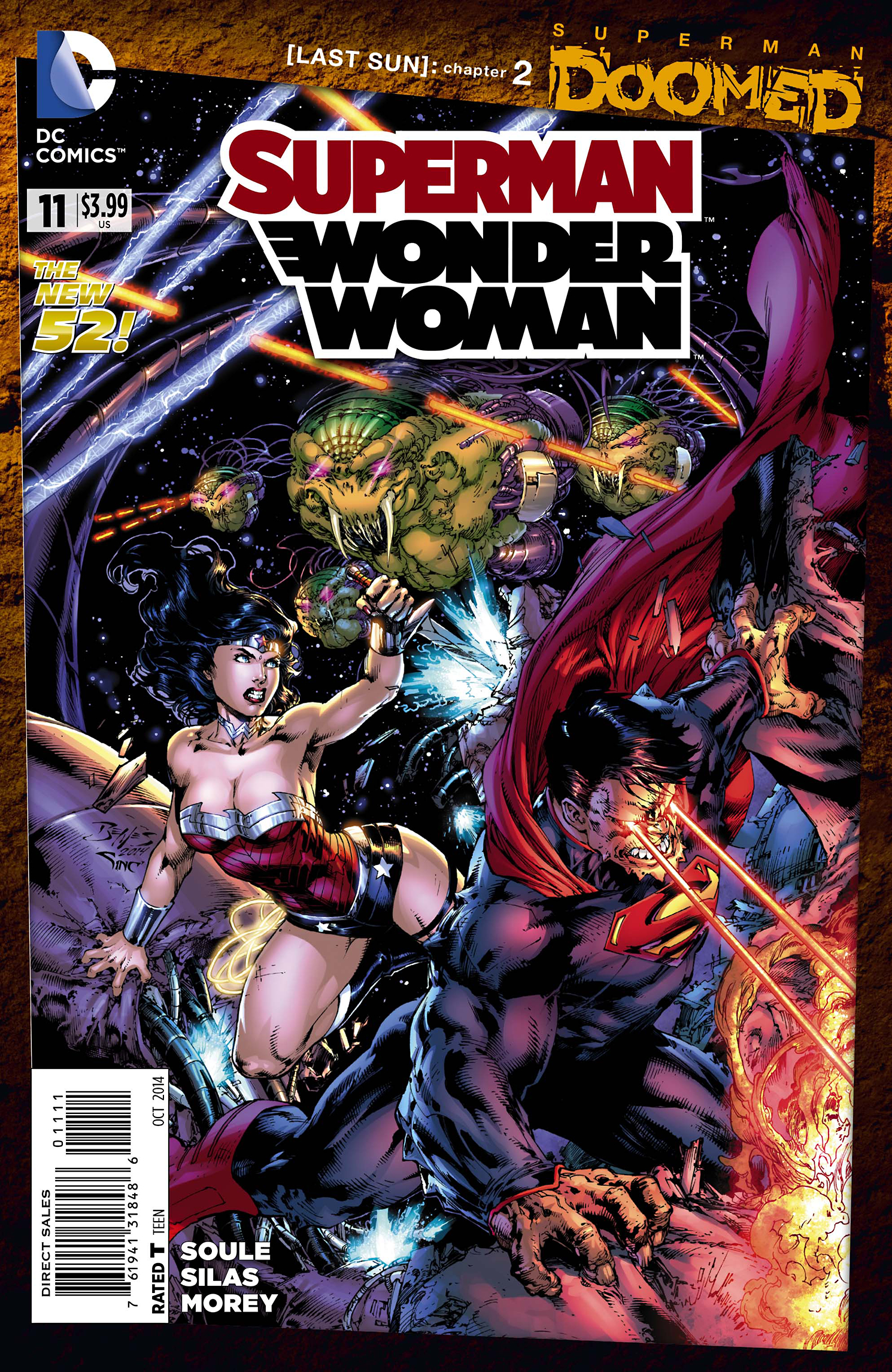 SUPERMAN WONDER WOMAN #11