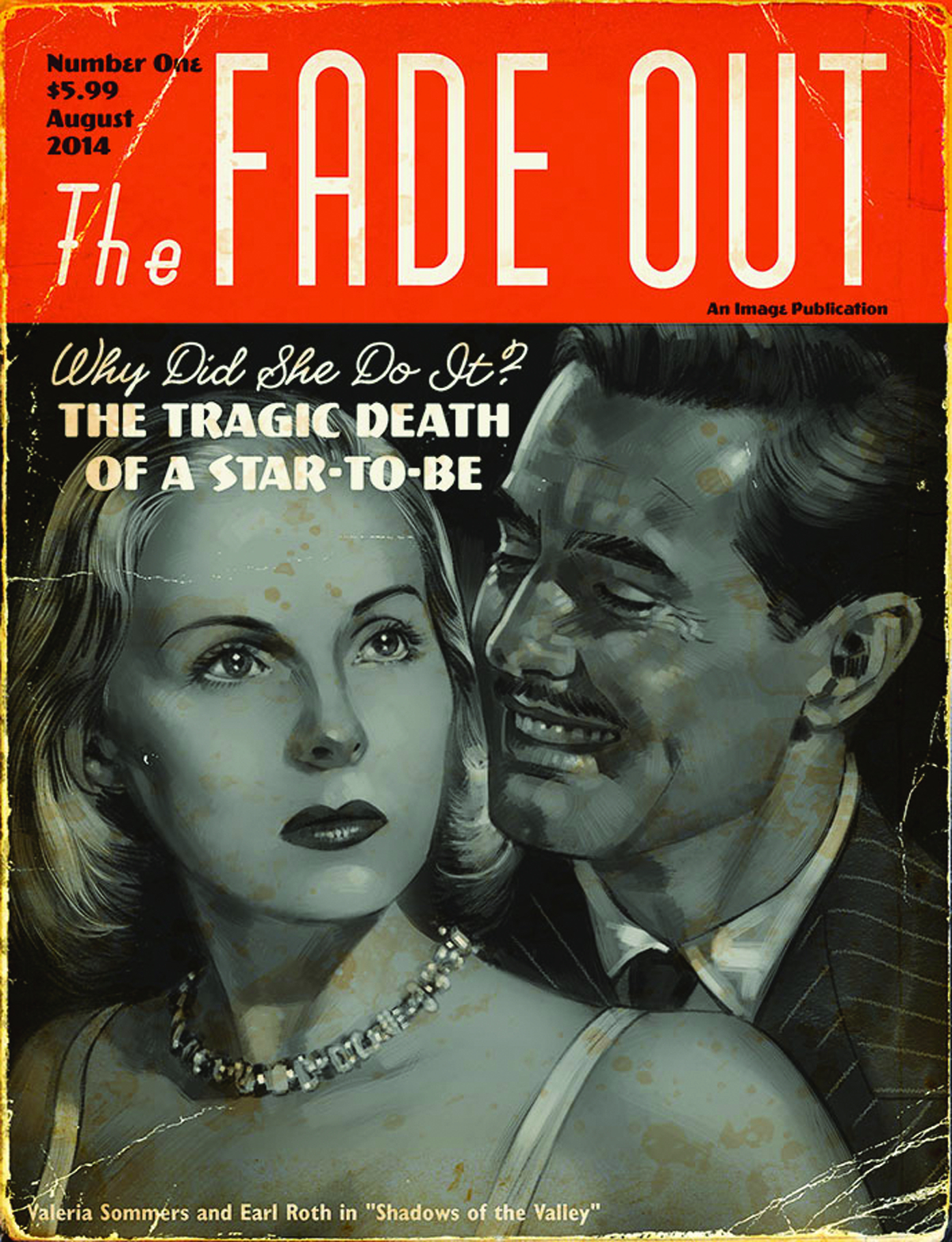 FADE OUT #1 MOVIE MAGAZINE VAR