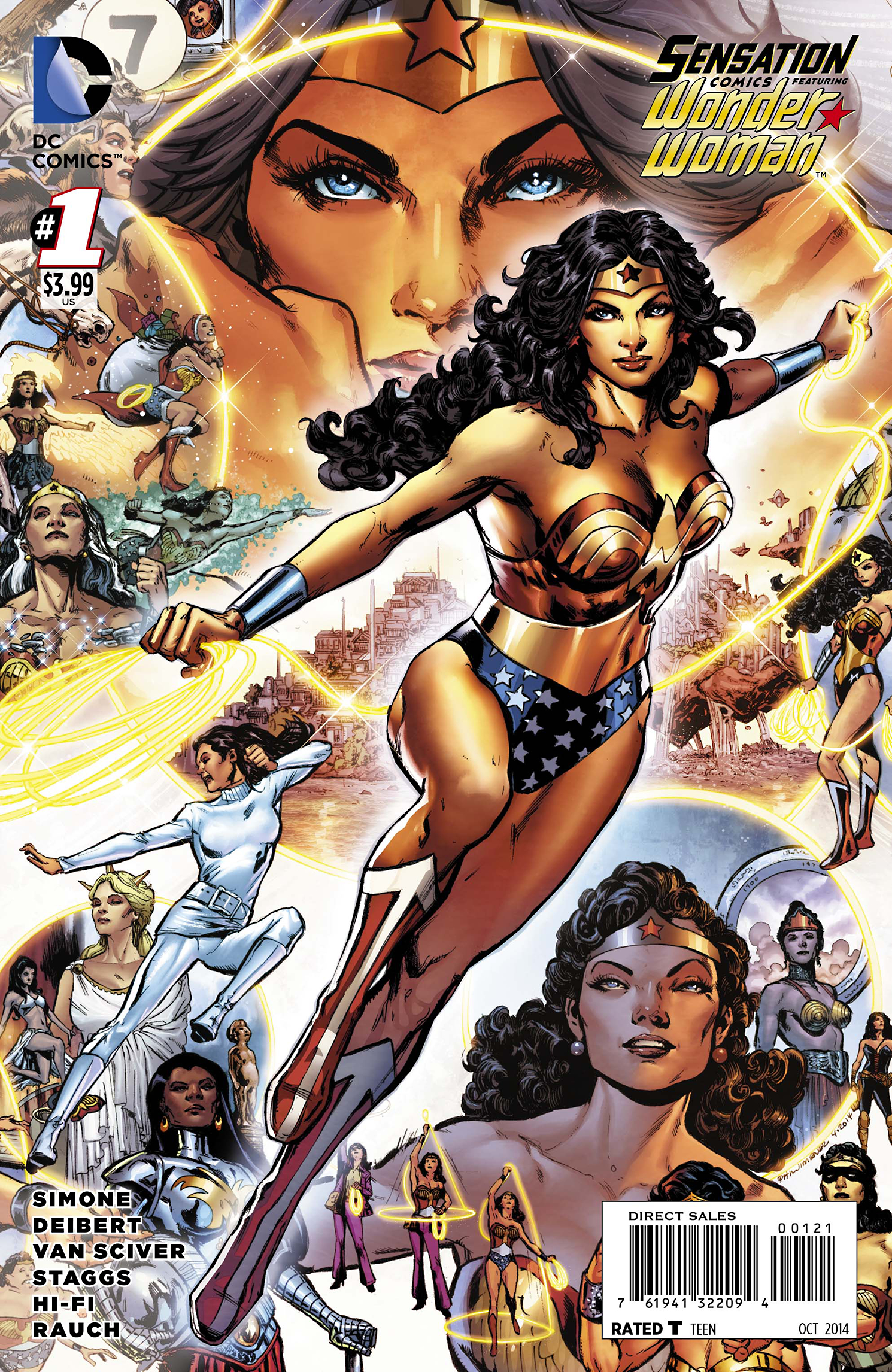 SENSATION COMICS FEATURING WONDER WOMAN #1 VAR ED