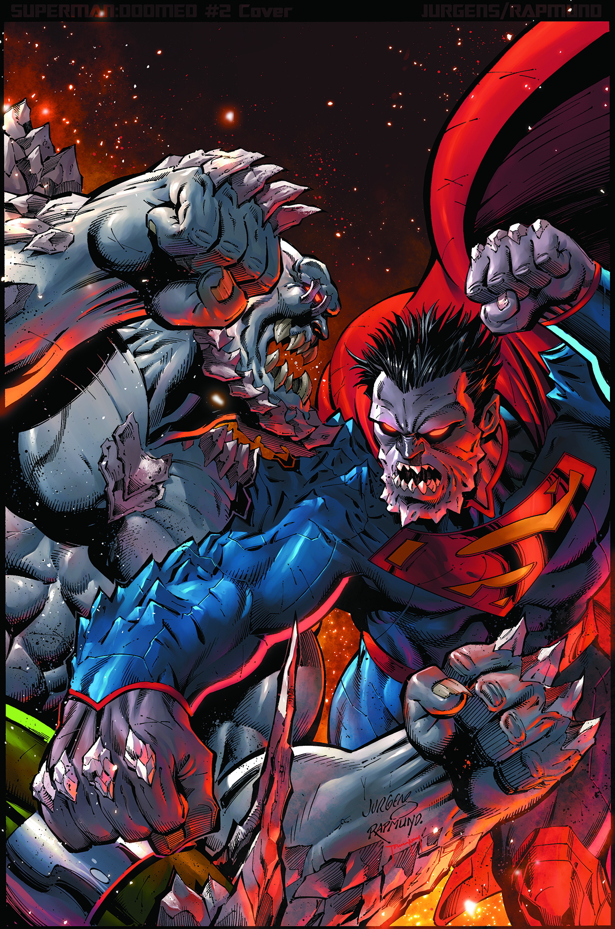 SUPERMAN DOOMED #2 VAR ED