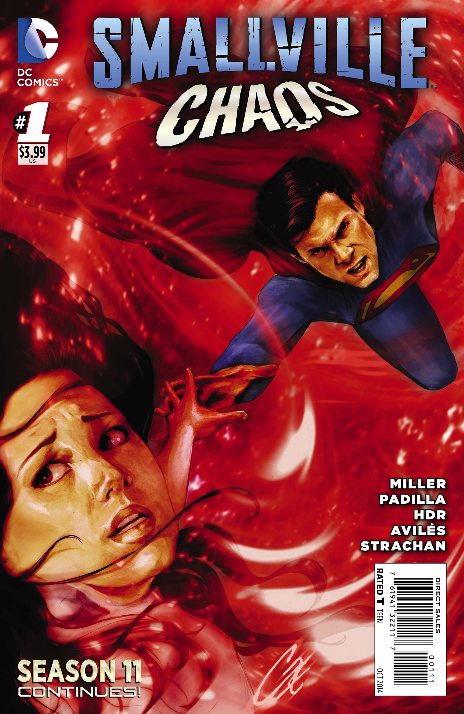 SMALLVILLE SEASON 11 CHAOS #1