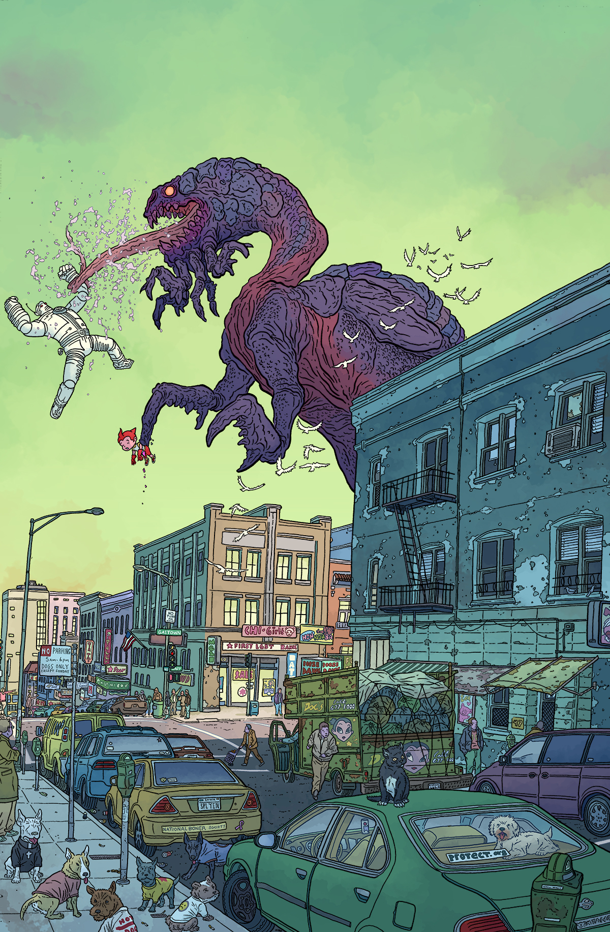 DARK HORSE PRESENTS 2014 #1 DARROW VAR CVR