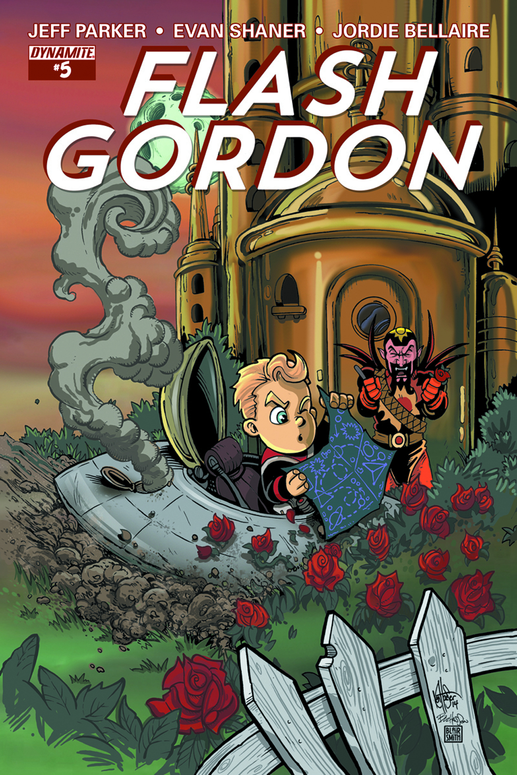 FLASH GORDON #5 HAESER EXC SUBSCRIPTION VAR