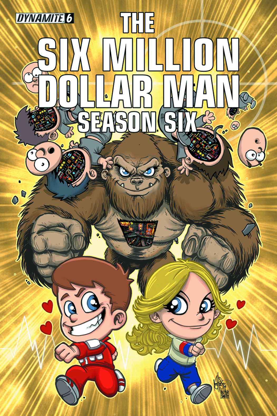 SIX MILLION DOLLAR MAN SEASON 6 #6 HAESER LIL DOLLAR MAN VAR