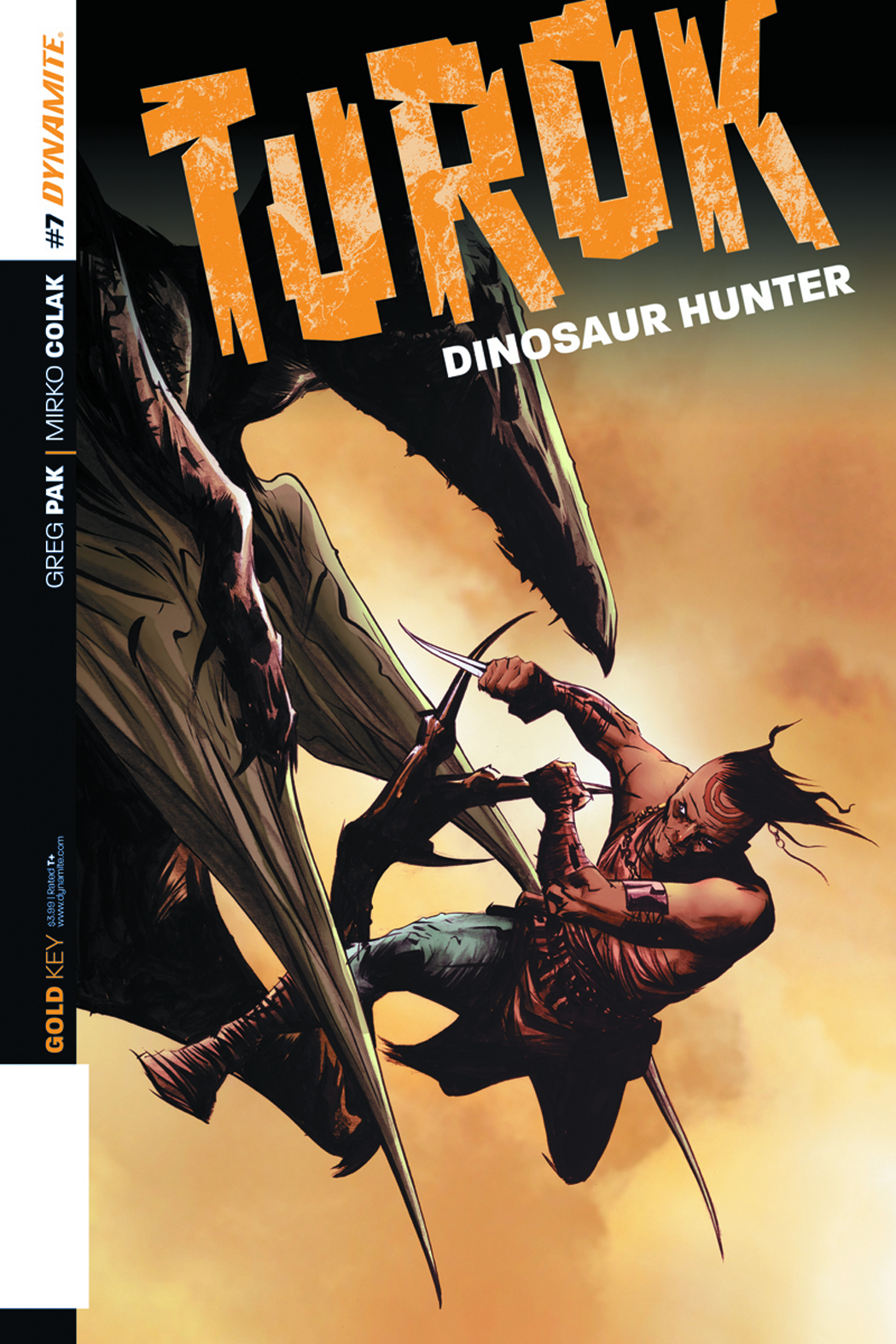 TUROK DINOSAUR HUNTER #7 LEE EXC SUBSCRIPTION VAR