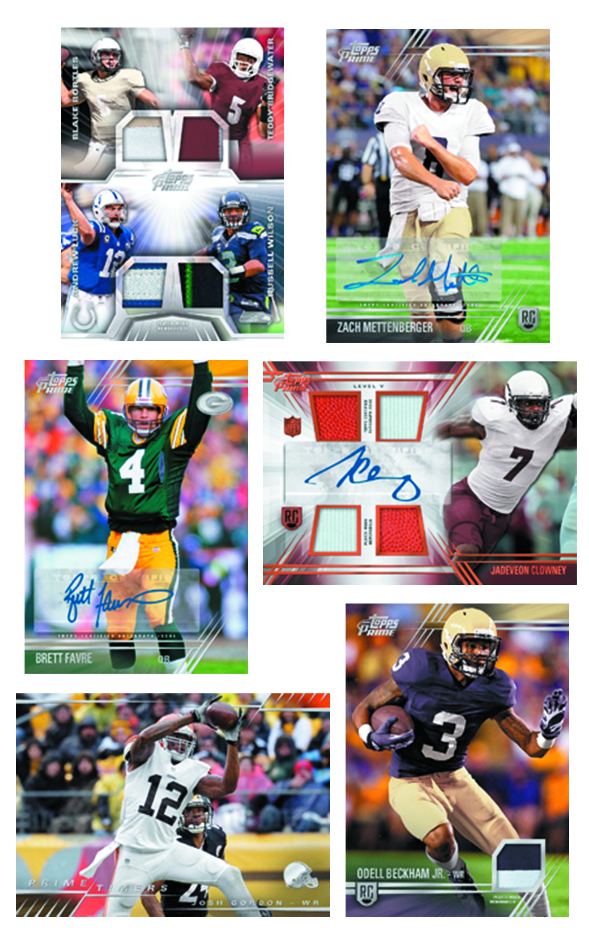 TOPPS 2014 PRIME FOOTBALL T/C BOX