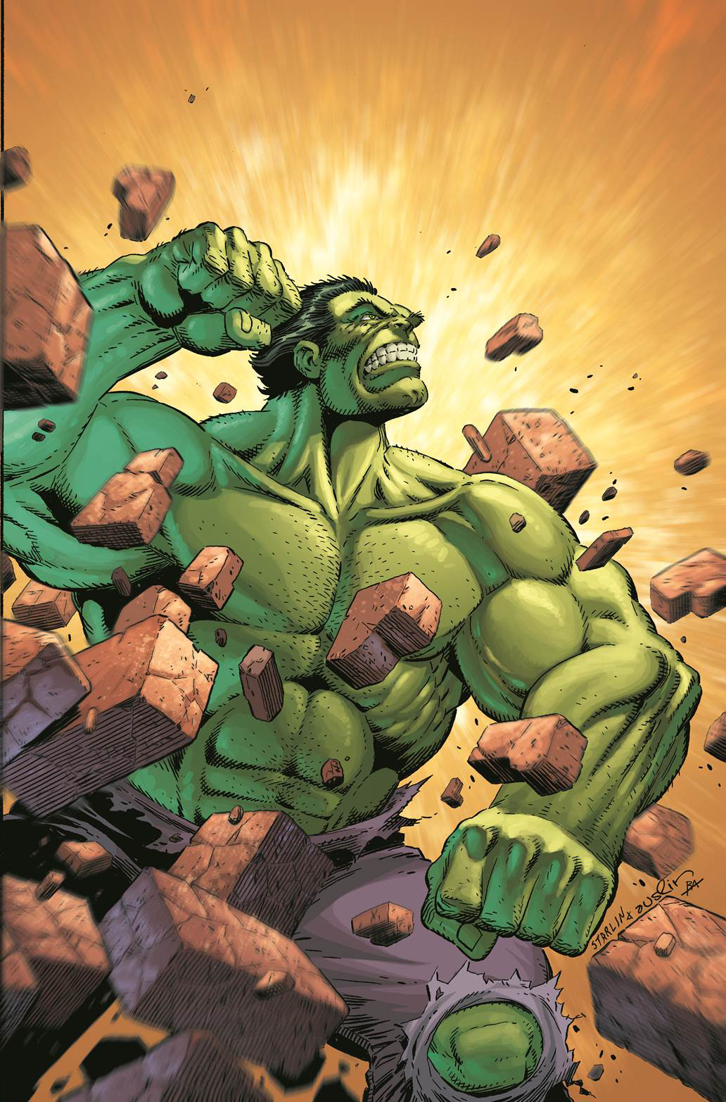 SAVAGE HULK #3 STARLIN VAR