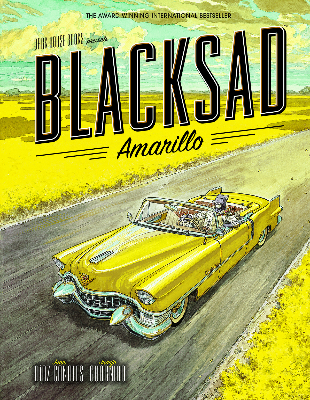BLACKSAD HC AMARILLO